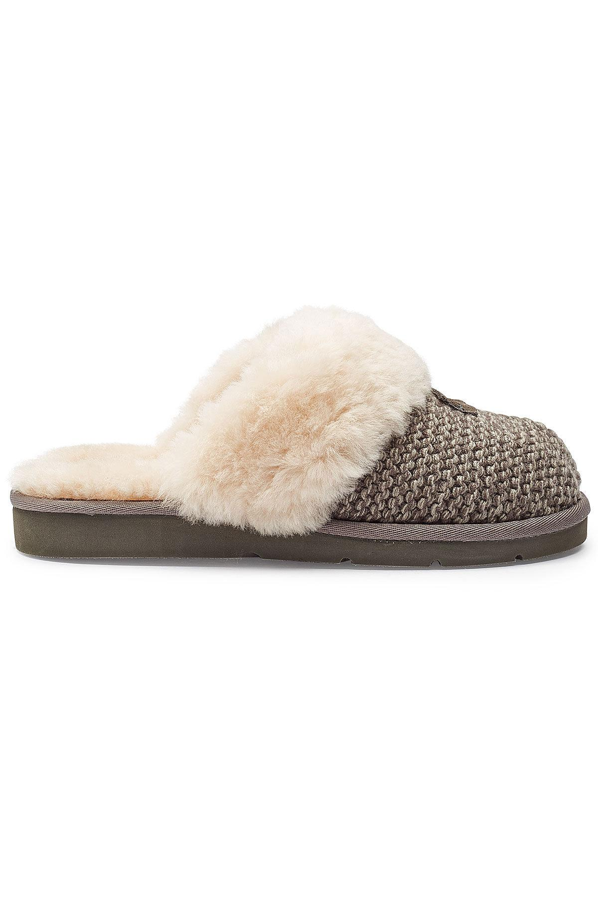 06f4cfddf35 Ugg - Multicolor Cozy Knit Cable Slippers With Sheepskin - Lyst. View  fullscreen
