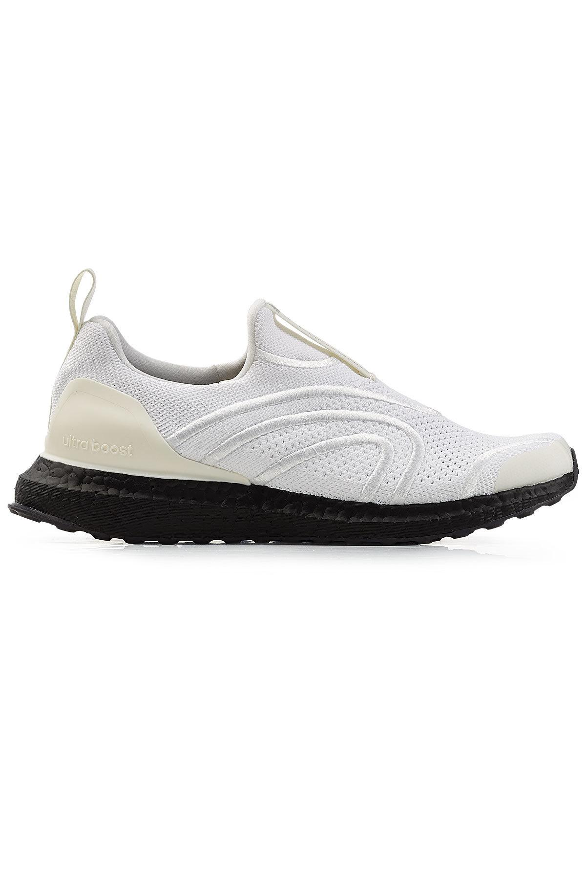 270ed277d Adidas By Stella McCartney - White Ultra Boost Uncaged Sneakers - Lyst.  View fullscreen