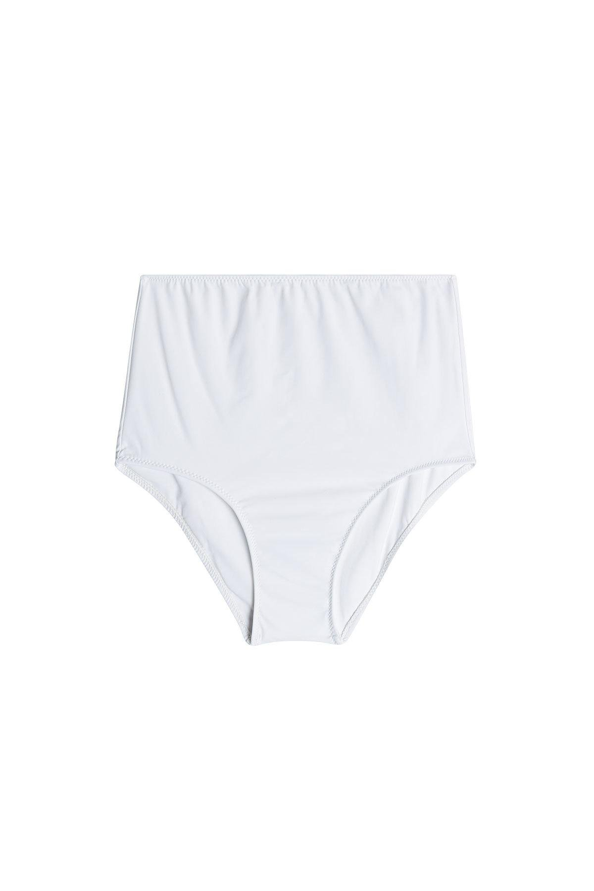 29cbb603eb Araks Mallory Hipster High-waist Bikini Bottoms in White - Lyst