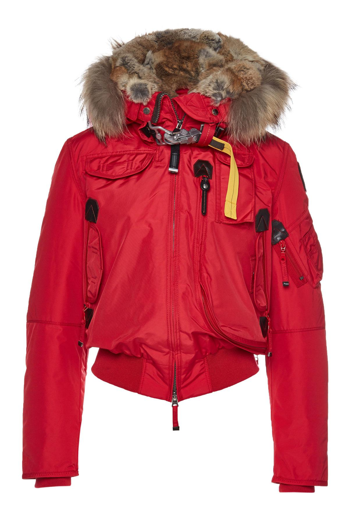 Parajumpers. Women's Red Gobi Down Bomber ...