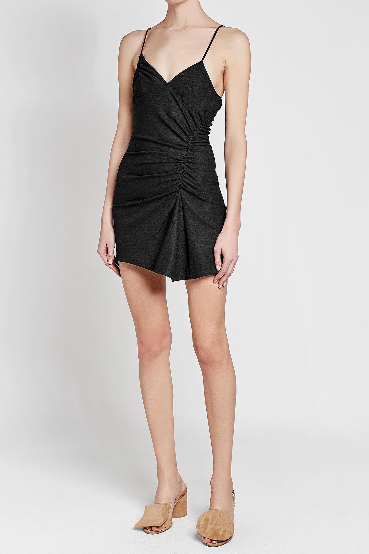 1d497ddb54fa Jacquemus Conga Dress in Black - Lyst