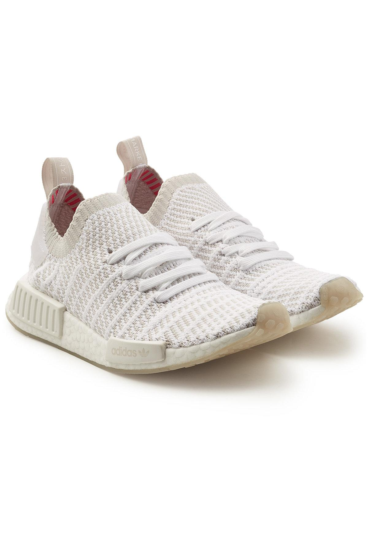 b46f1e8c4 Lyst - adidas Originals Nmd R1 Stlt Primeknit Sneakers in White