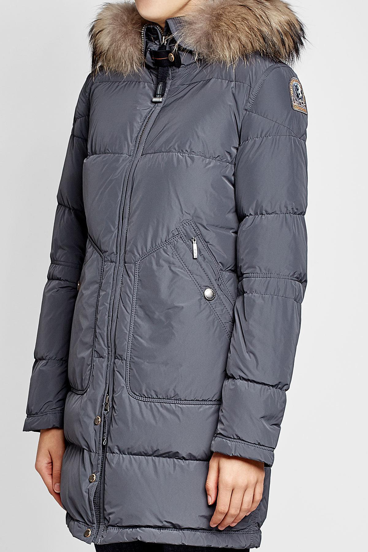 parajumpers light long bear down jacket