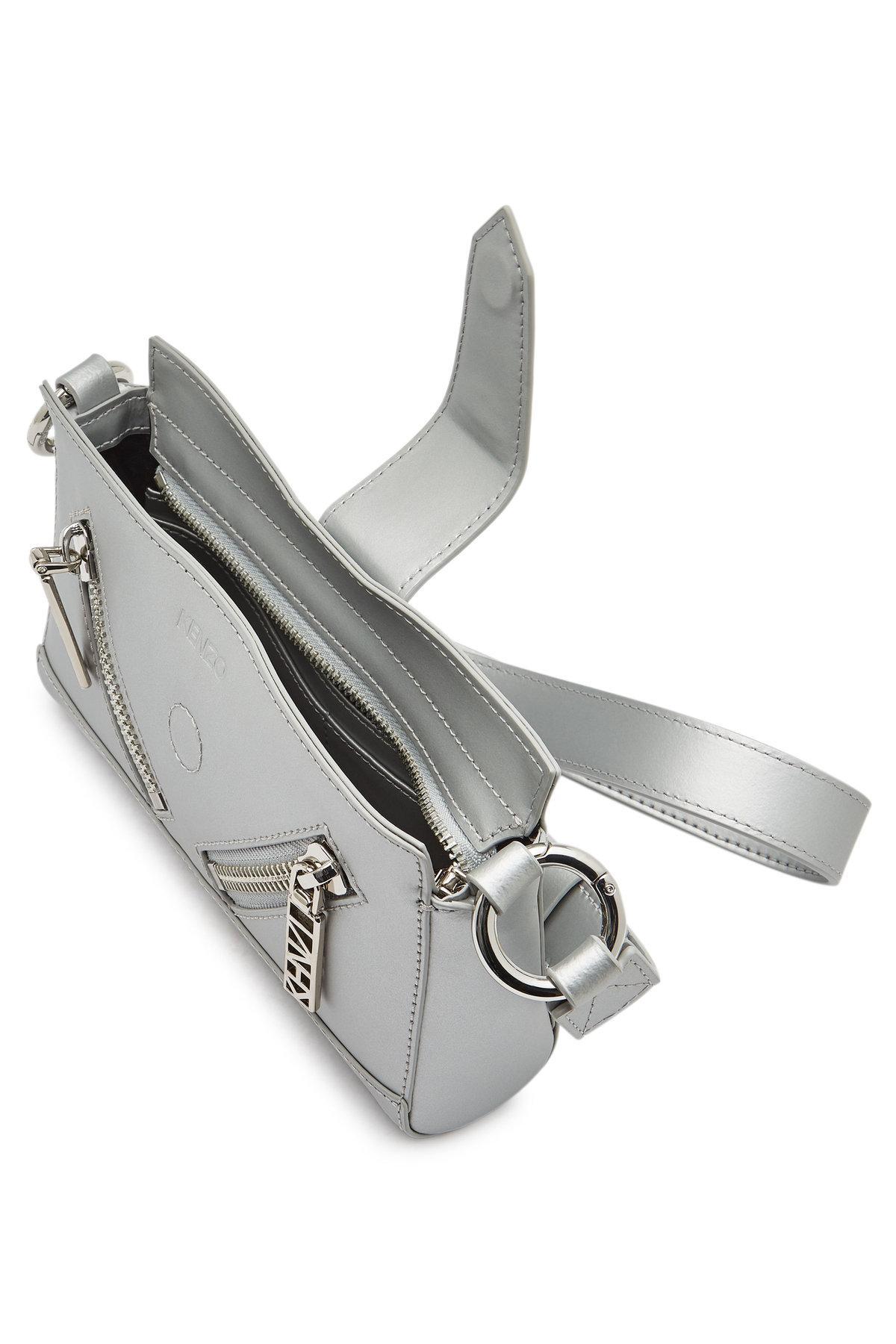 d28b2571ca KENZO Baby California Leather Shoulder Bag - Lyst