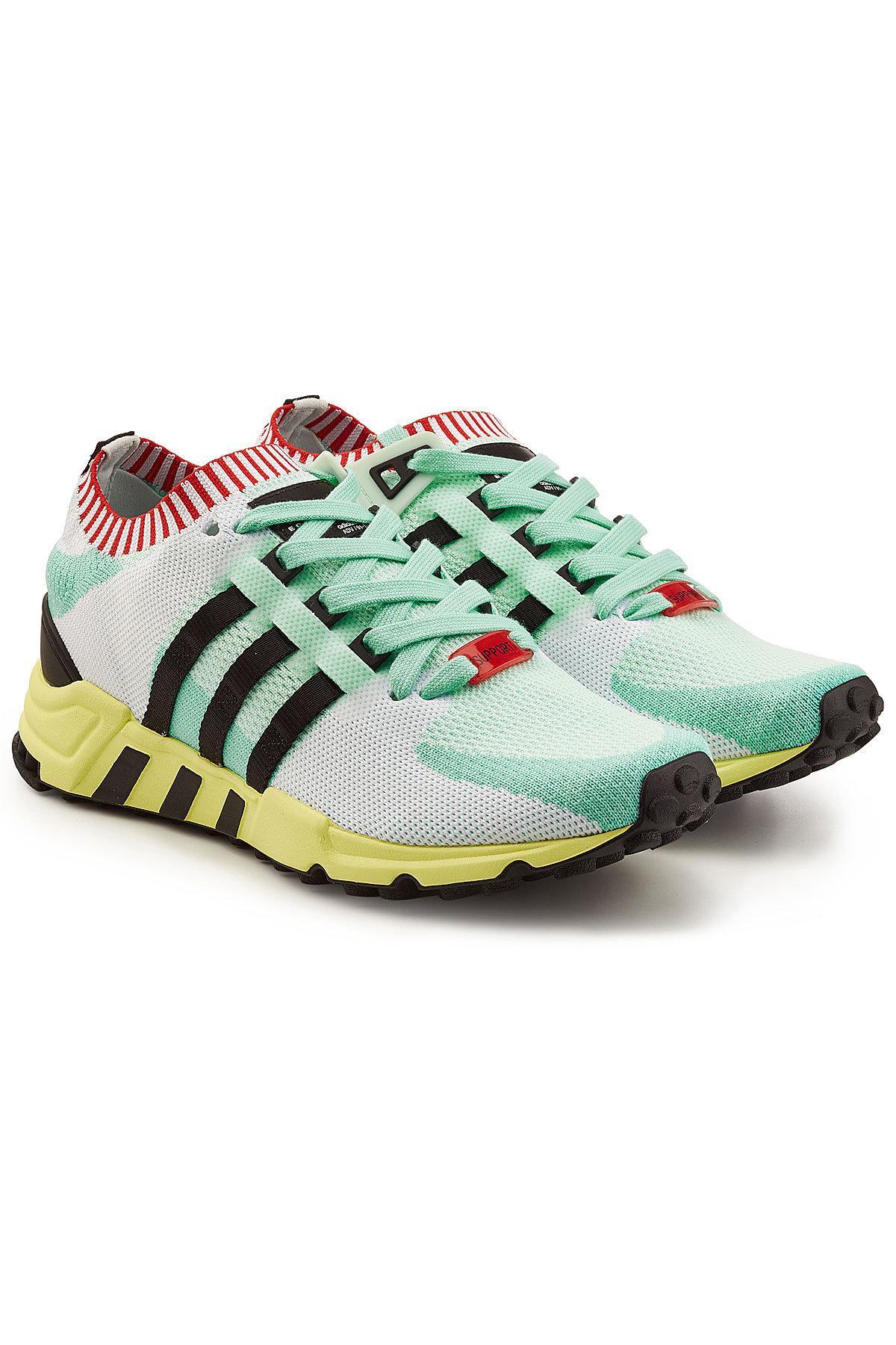 pretty nice 2e6f7 d1d0f Adidas Originals Eqt Support Refine Primeknit Sneakers in Gr