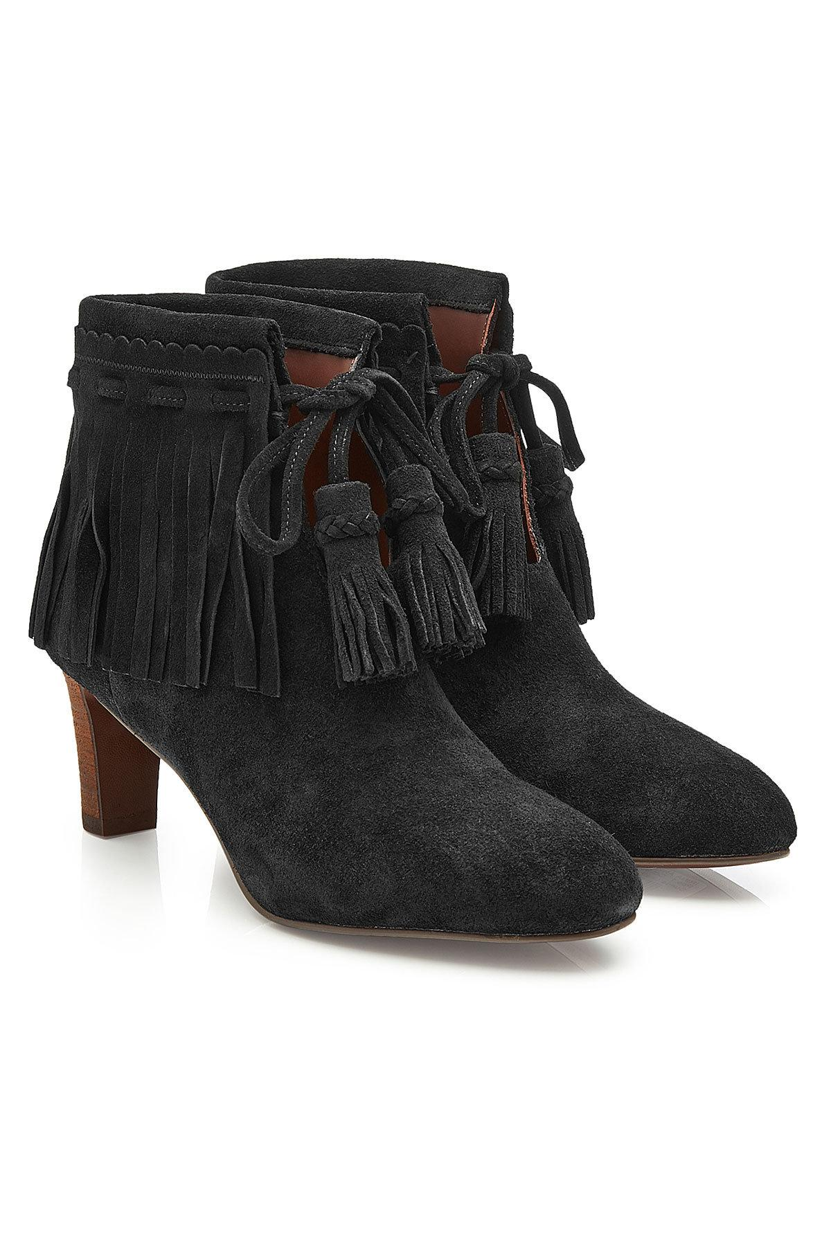 clearance Inexpensive Chloé Leather & Suede Ankle Boots clearance the cheapest D7zUX2X