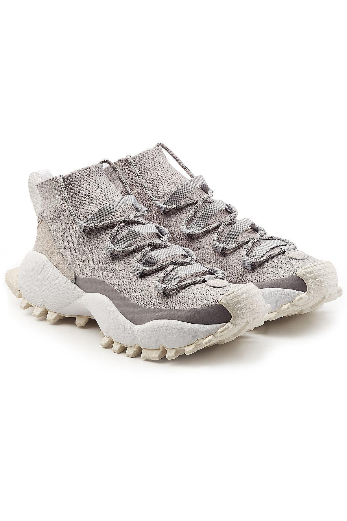 3bbba246121e adidas Originals Seeulater Primeknit Winter Sneakers in Gray for Men ...