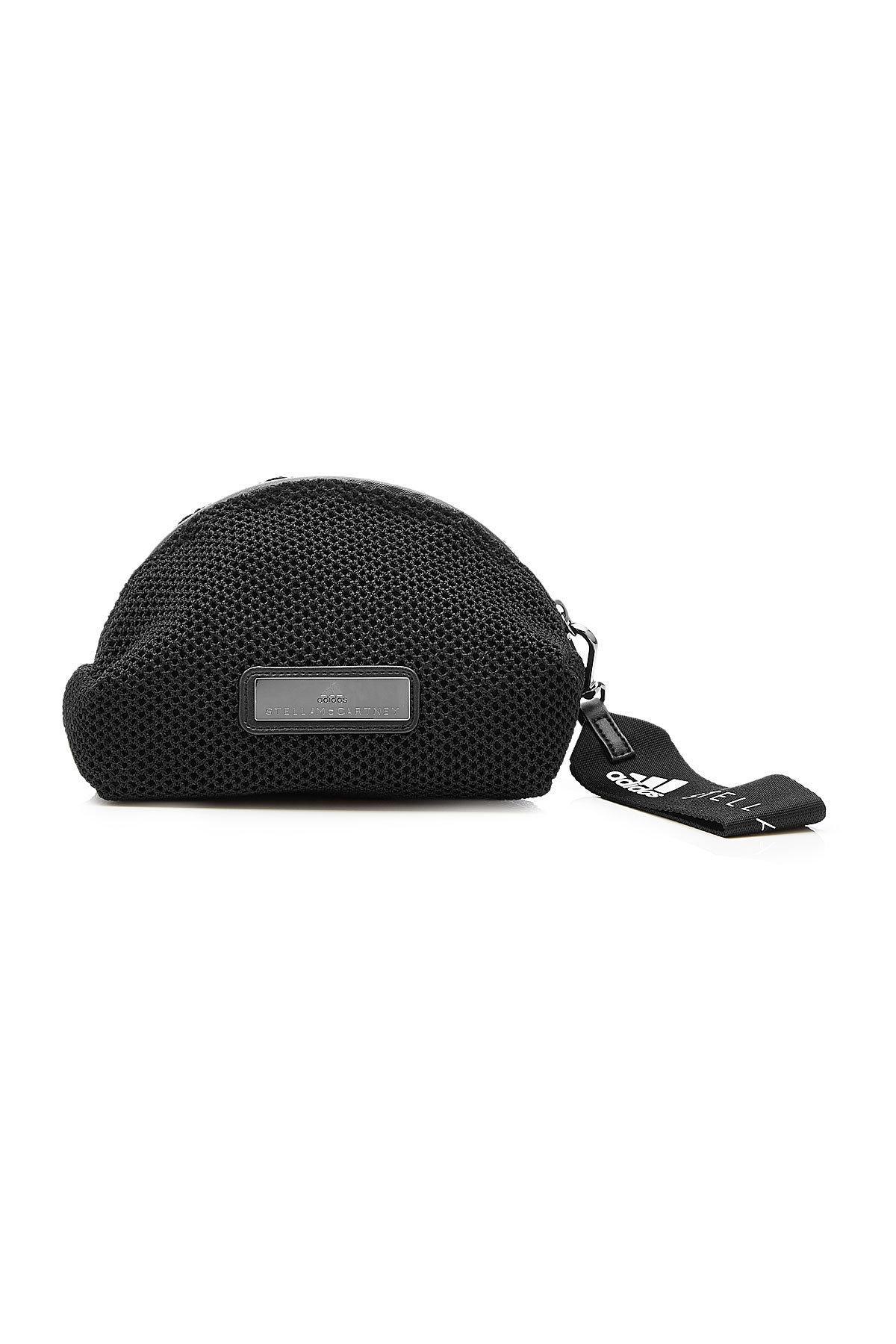 c53915805f03 Lyst - adidas By Stella McCartney Mesh Wash Bag in Black