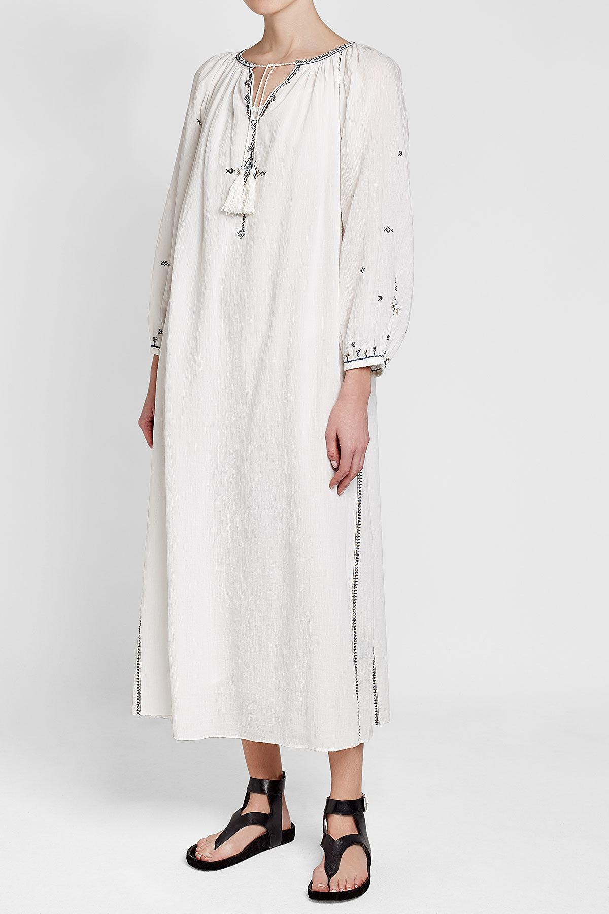 Meadlon dress - White Isabel Marant w2esopcM3