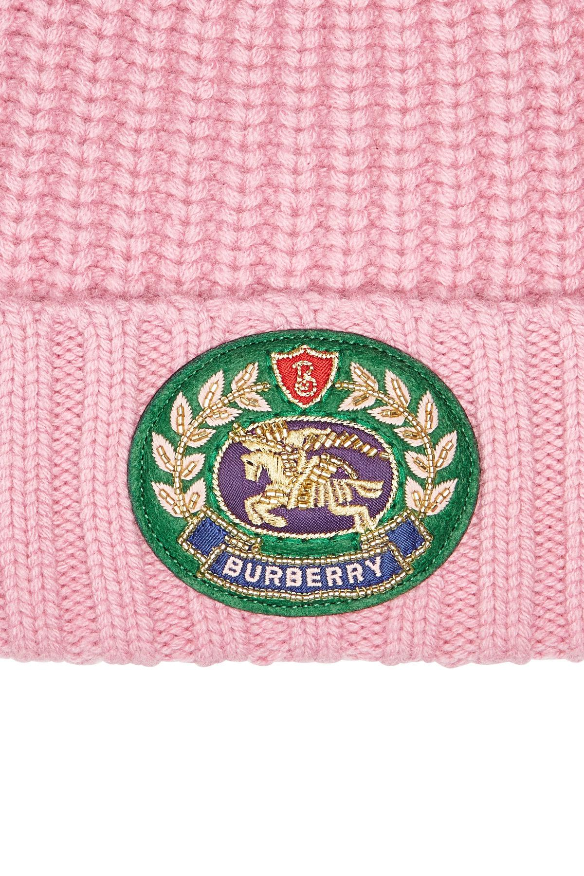 c0a3aaeccaf Burberry - Multicolor Hat With Wool And Cashmere - Lyst. View fullscreen