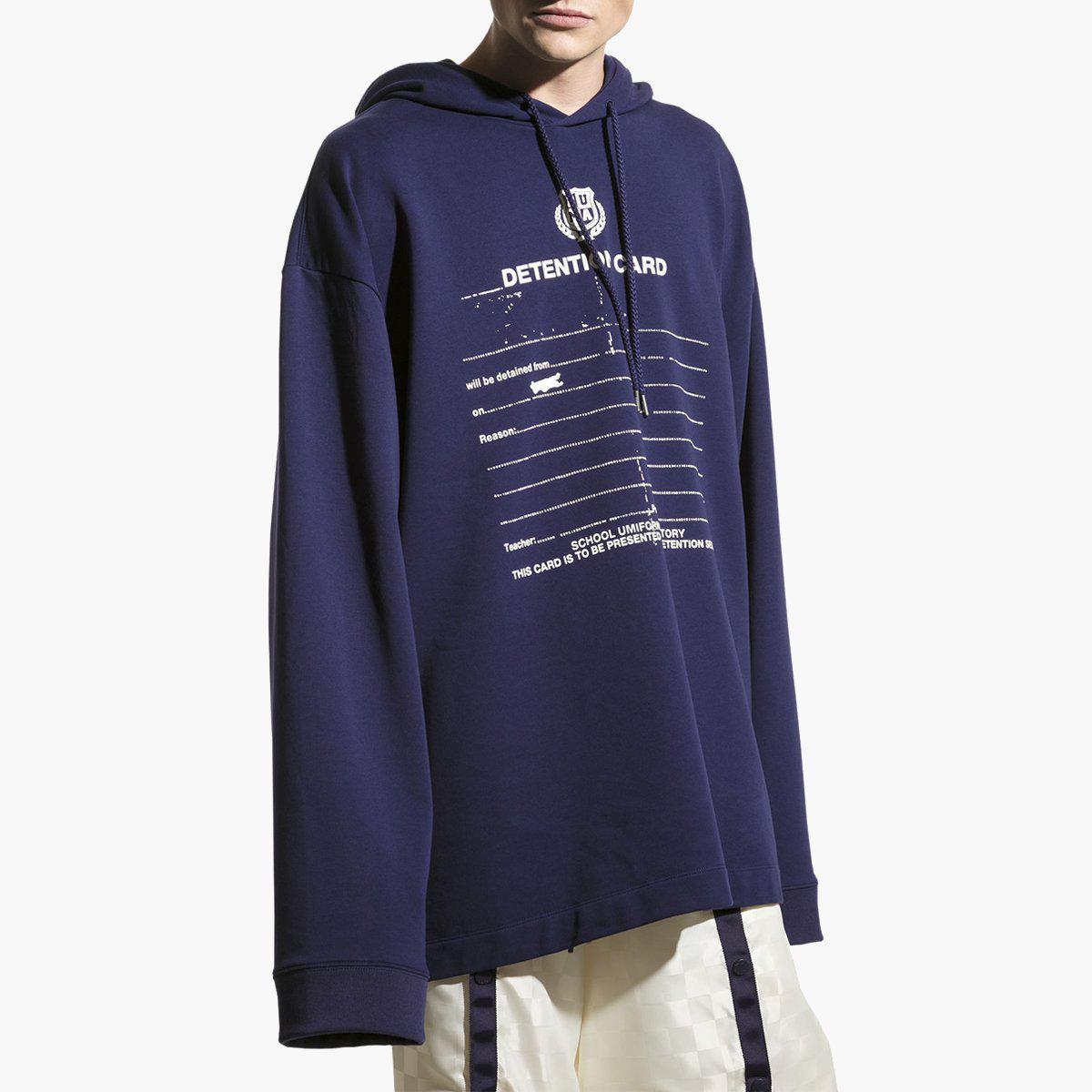 6bd8c76061f PUMA X Fenty Ls Graphic Hoodie Evening in Blue - Lyst