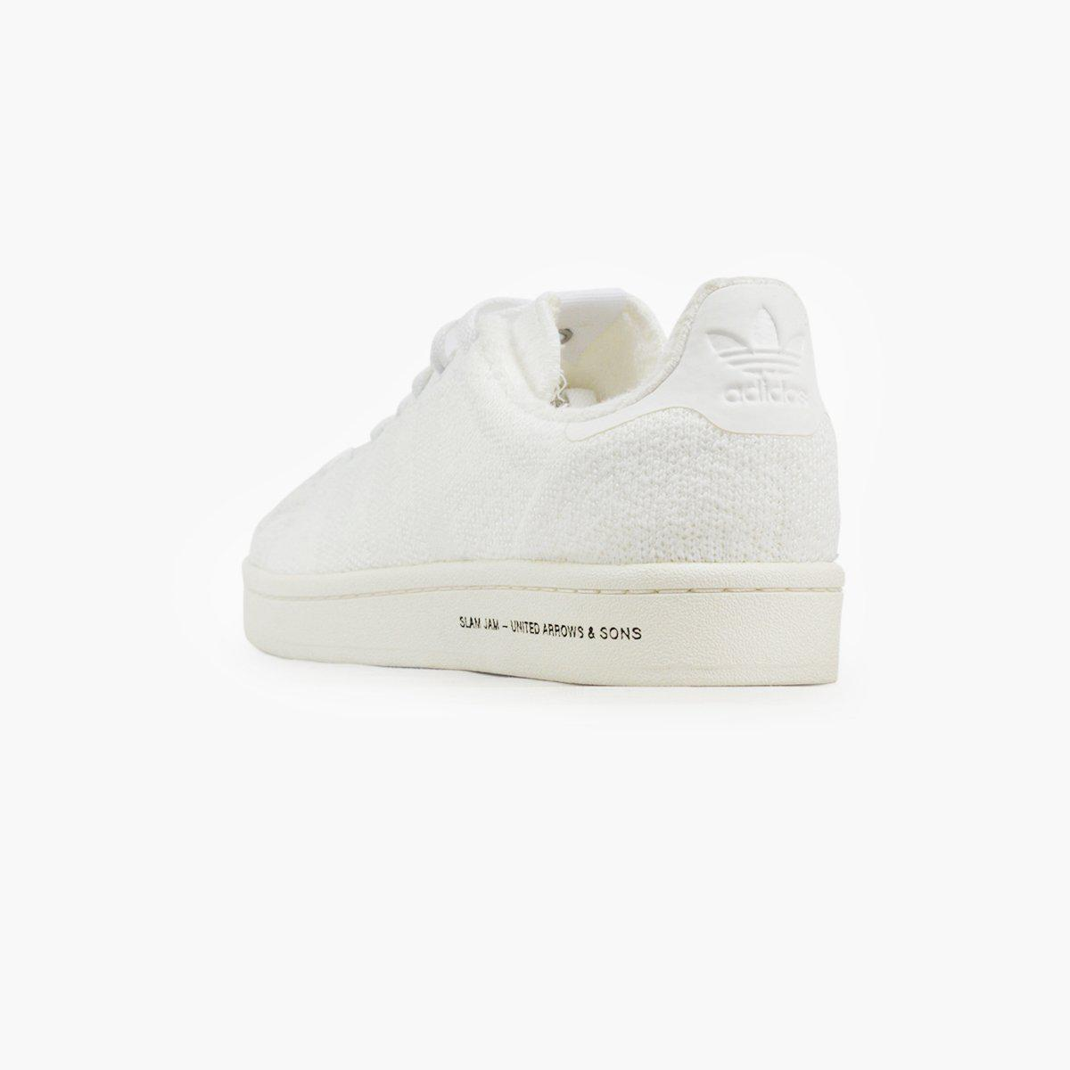 low priced 9740e 6724b Adidas Originals - White X United Arrows X Slam Jam Campus for Men - Lyst.  View fullscreen