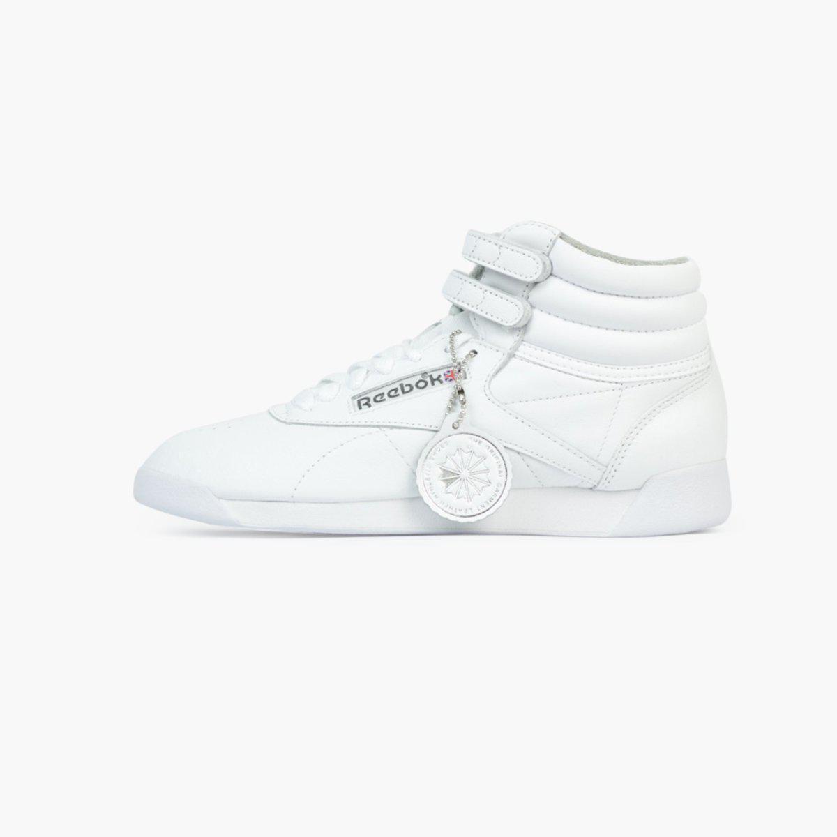 267ec88830d Lyst - Reebok Freestyle Hi Archive Women s in White