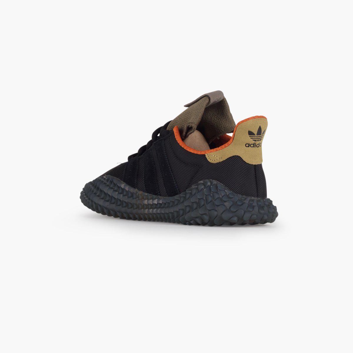 adidas Originals Kamanda Suede Sneakers in Black for Men Lyst