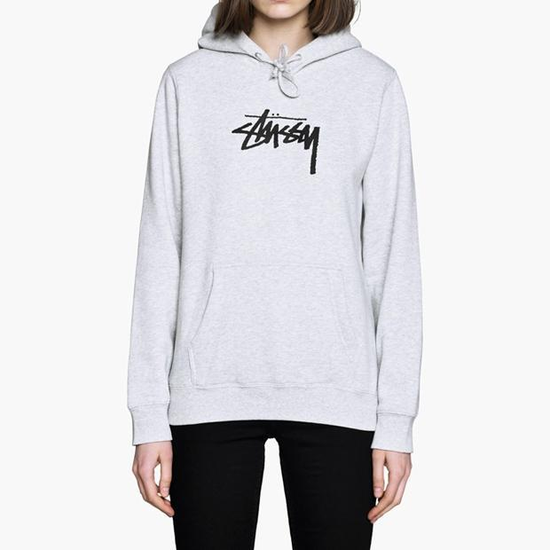 Stussy Stock Hoodie Women s in White - Lyst be9dae947f
