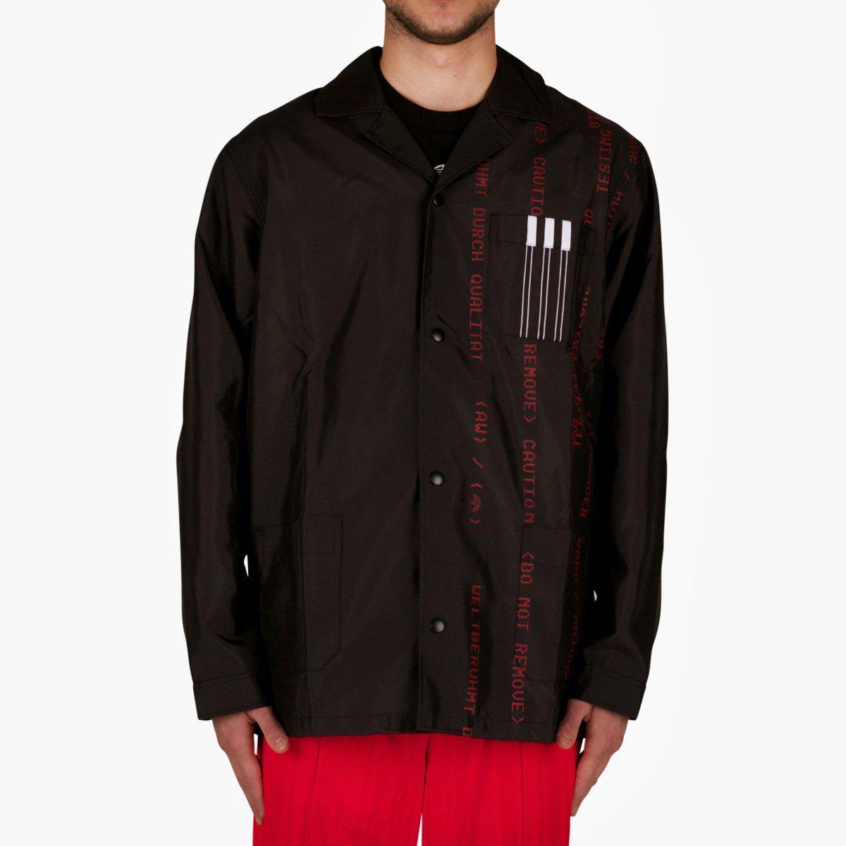 73f95ee02 adidas Originals. Men s Black Adidas Originals By Alexander Wang Coach  Jacket