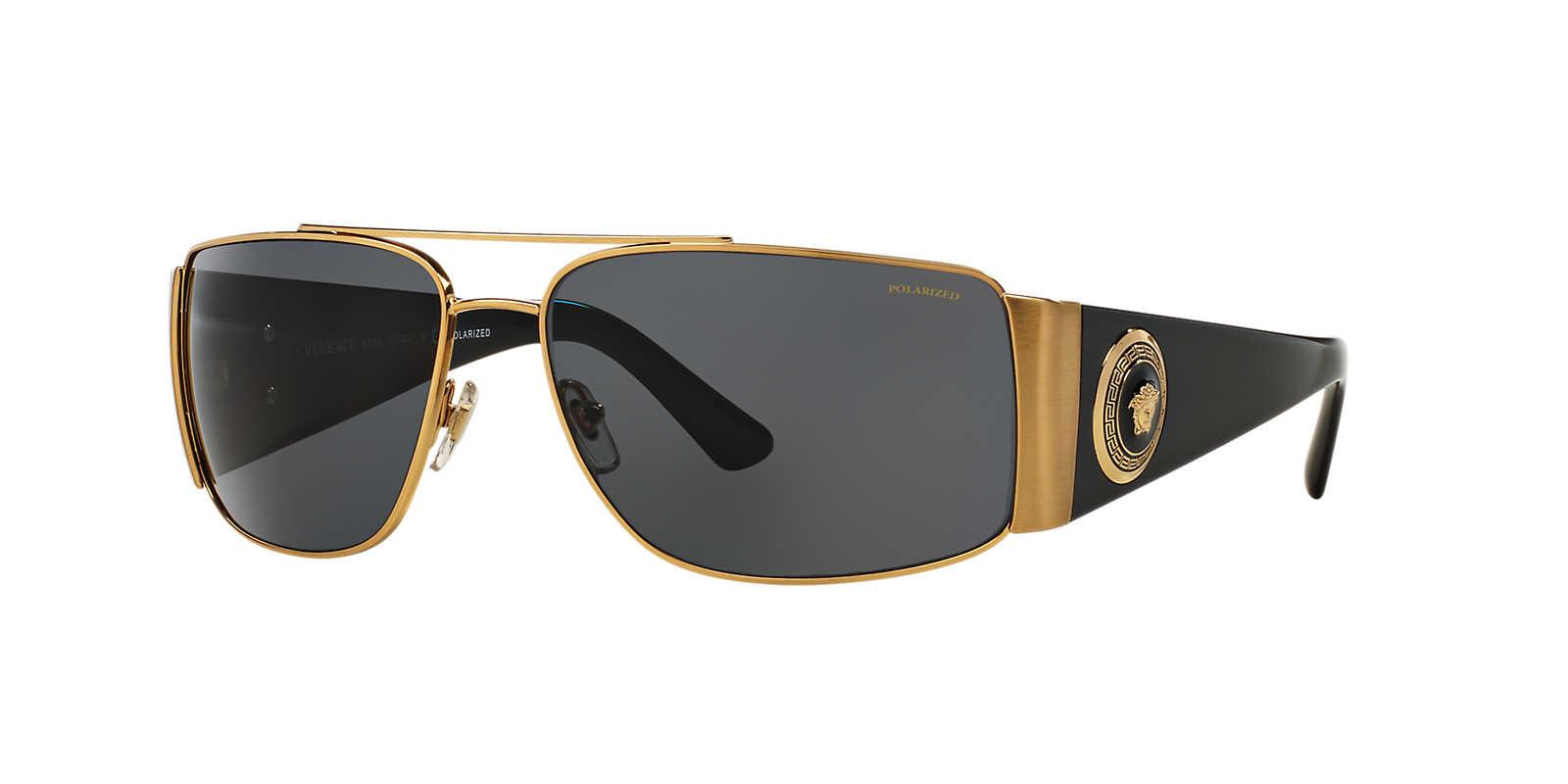 34049f78390f Versace. Men s Metallic Sunglasses ...