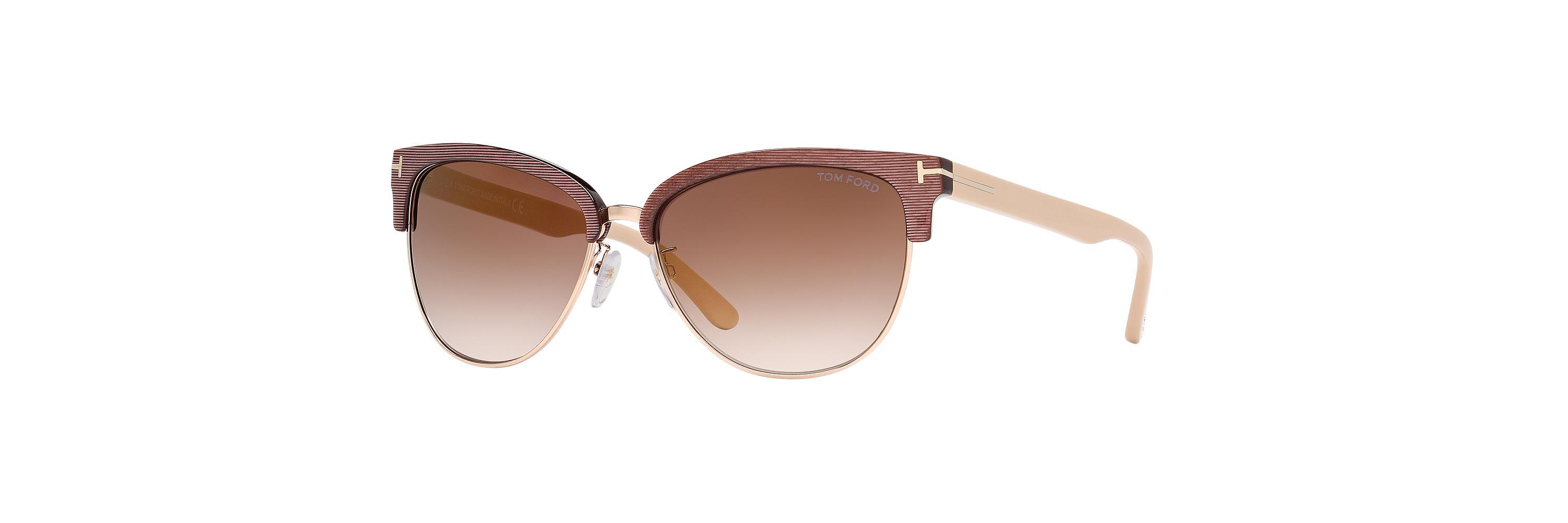 54d0abb4ddab0 Lyst - Tom Ford Ft0368 Fany in Brown