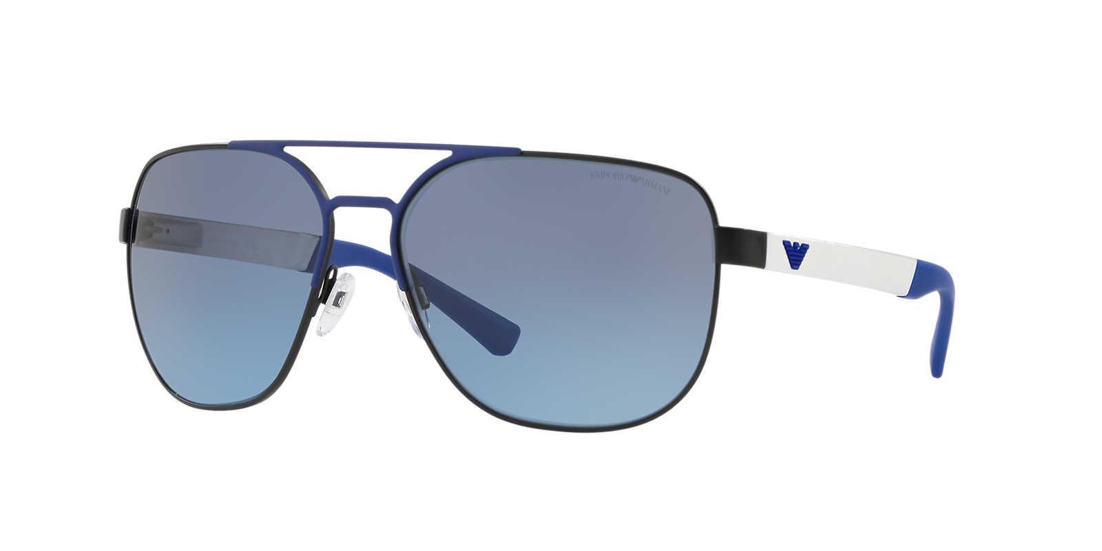 091642b0459b Emporio Armani Sunglass Ea2064 62 in Blue for Men - Lyst