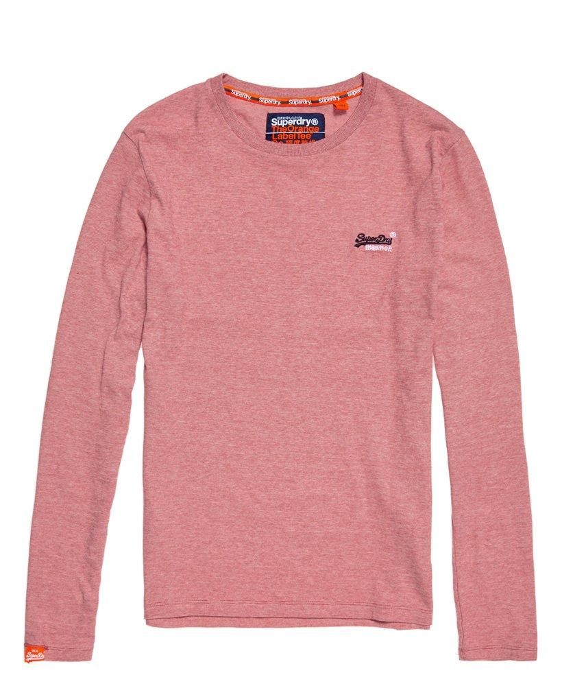 5f6e8a85791 Lyst - Superdry Orange Label Vintage Embroidered Long Sleeve Top in Red for  Men