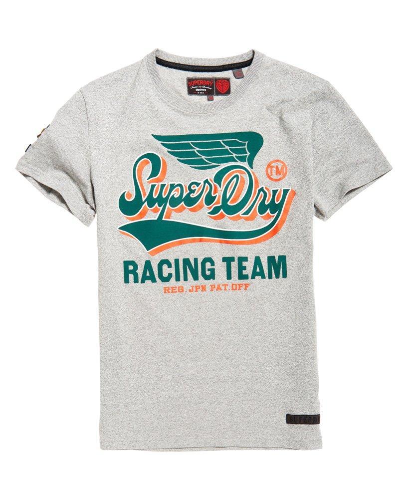 Superdry - Gray Famous Flyers T-shirt for Men - Lyst. View fullscreen 879d5bb44
