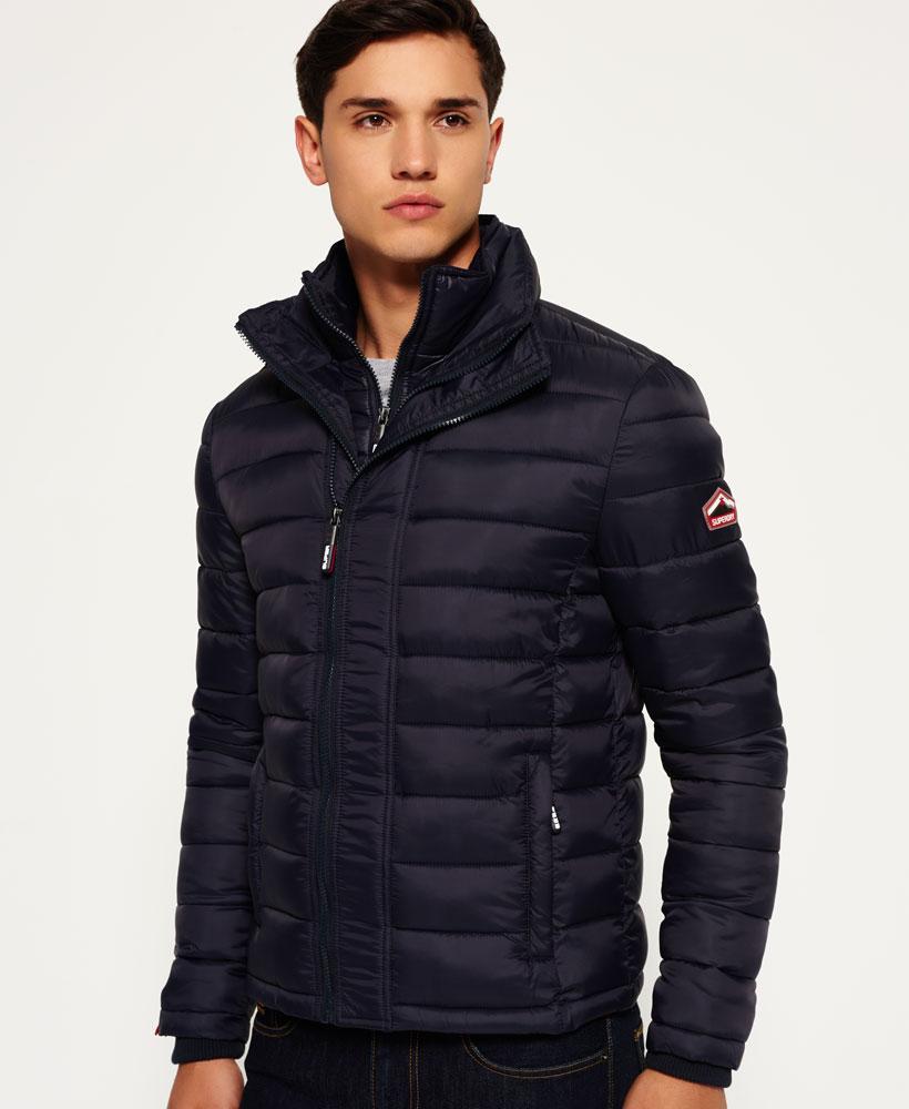 Superdry Fuji Triple Zip Through Jacket In Blue For Men Lyst