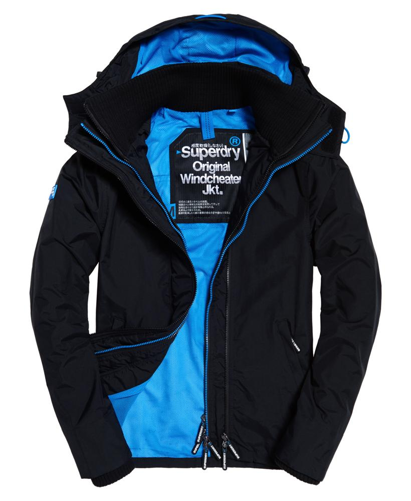 Superdry: Superdry Pop Zip Hooded Technical Windcheater