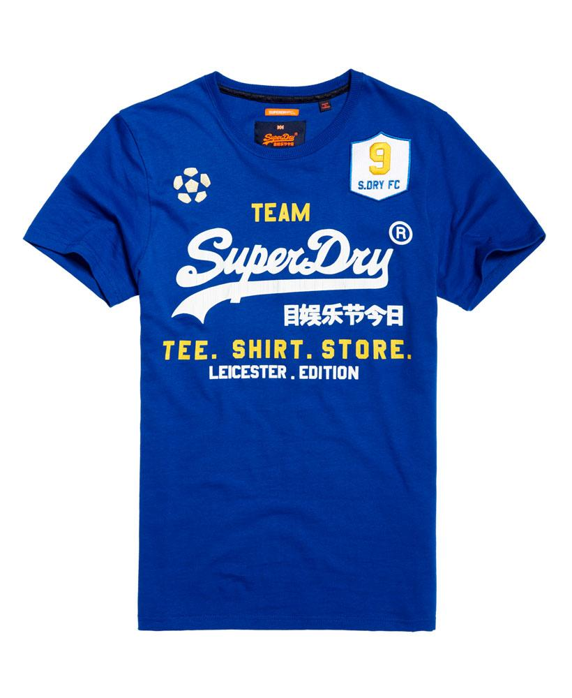 lyst superdry classic limited edition football t shirt. Black Bedroom Furniture Sets. Home Design Ideas