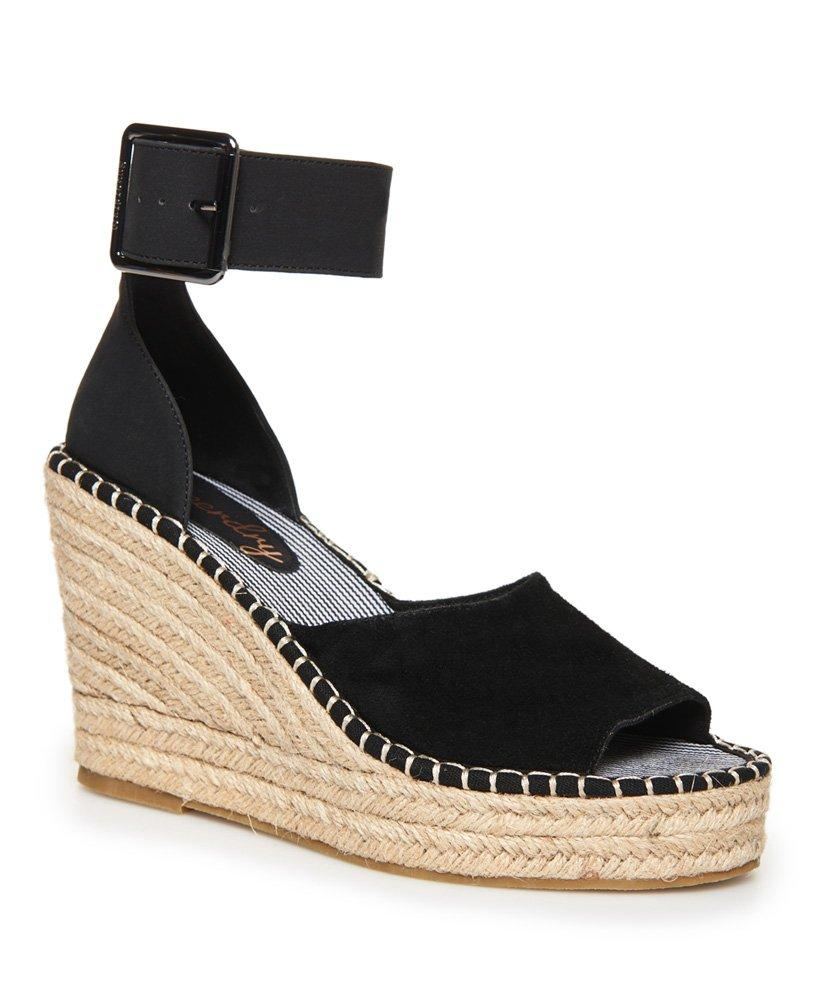 3bbd2710e498 Superdry Anna Wedge Espadrilles in Black - Lyst