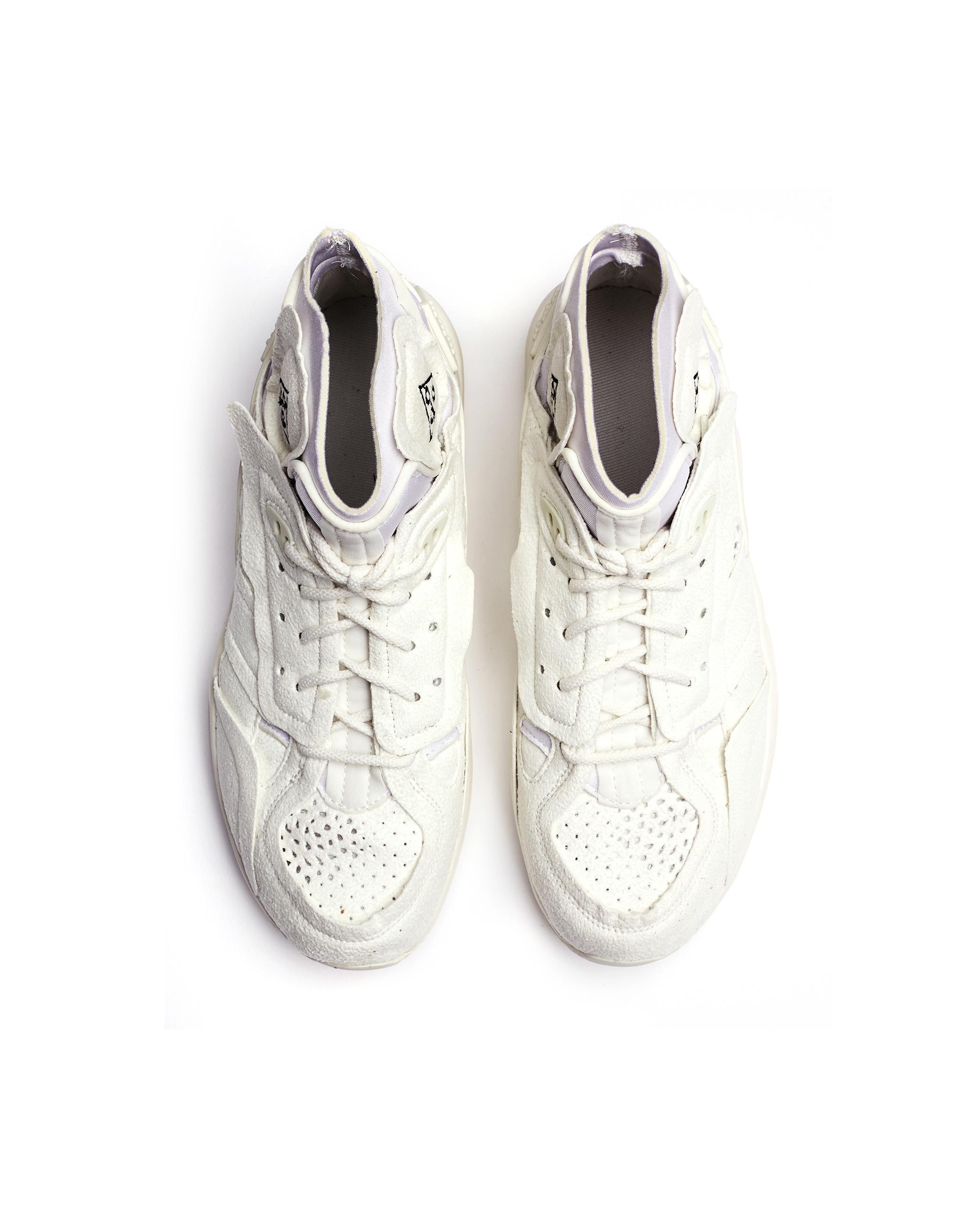 252bd130c8f5 Comme des Garçons White Nike Air Mowabb Sneakers in White - Lyst