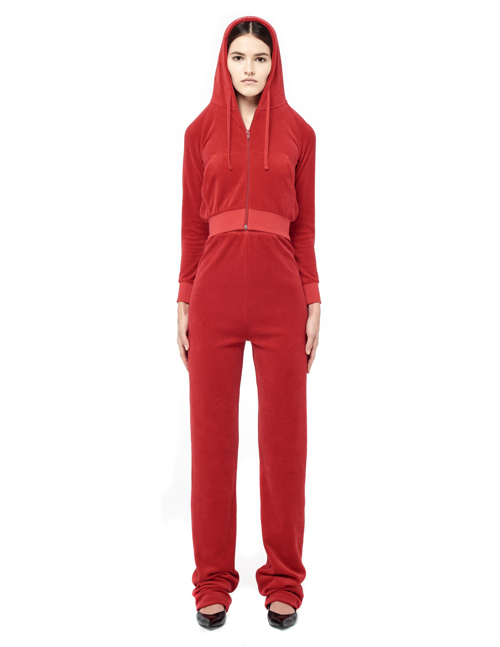 3060a7db0a54 Vetements Juicy Couture Velour Tracksuit in Red - Lyst