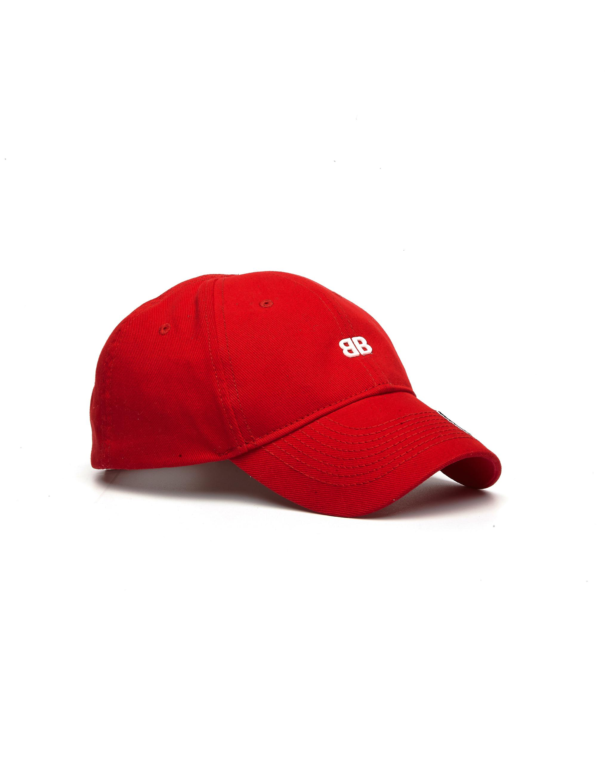 Lyst - Balenciaga Red Europe Cap in Red for Men d8ad2c6b0e3e