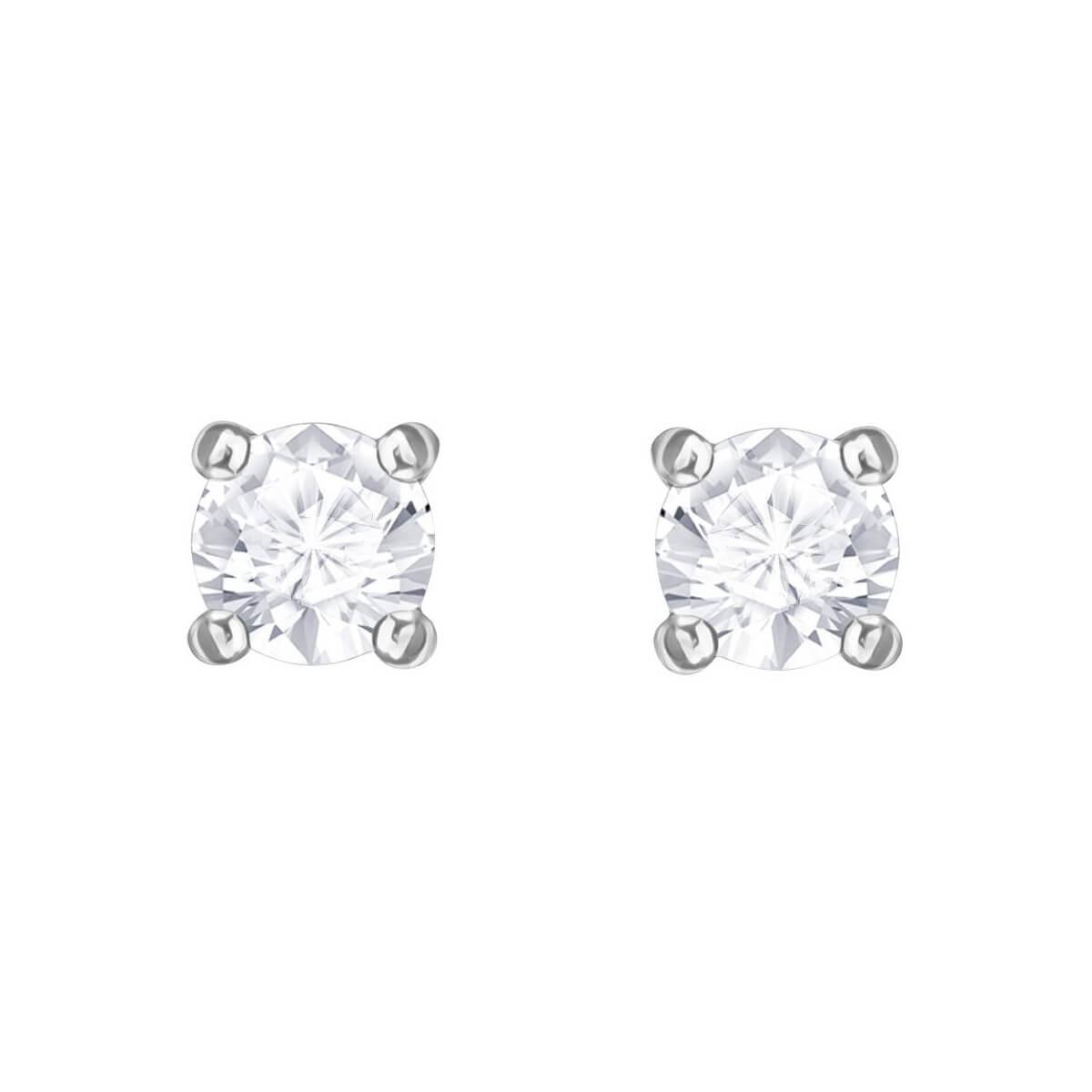 1d3ca6b23 Swarovski. Women's Attract Round Pierced Earrings