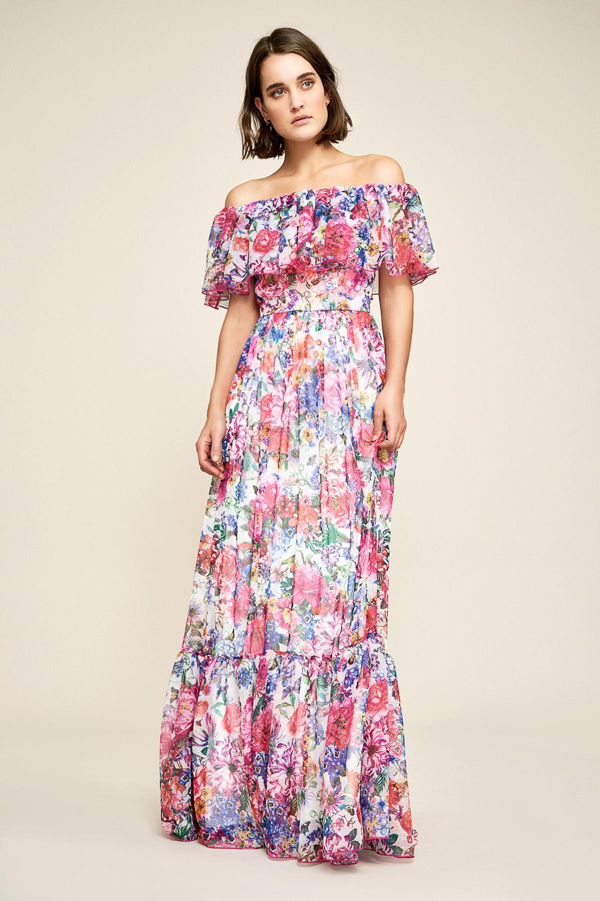 99315391f681 Tadashi Shoji. Women s Paola Floral Print Maxi Dress