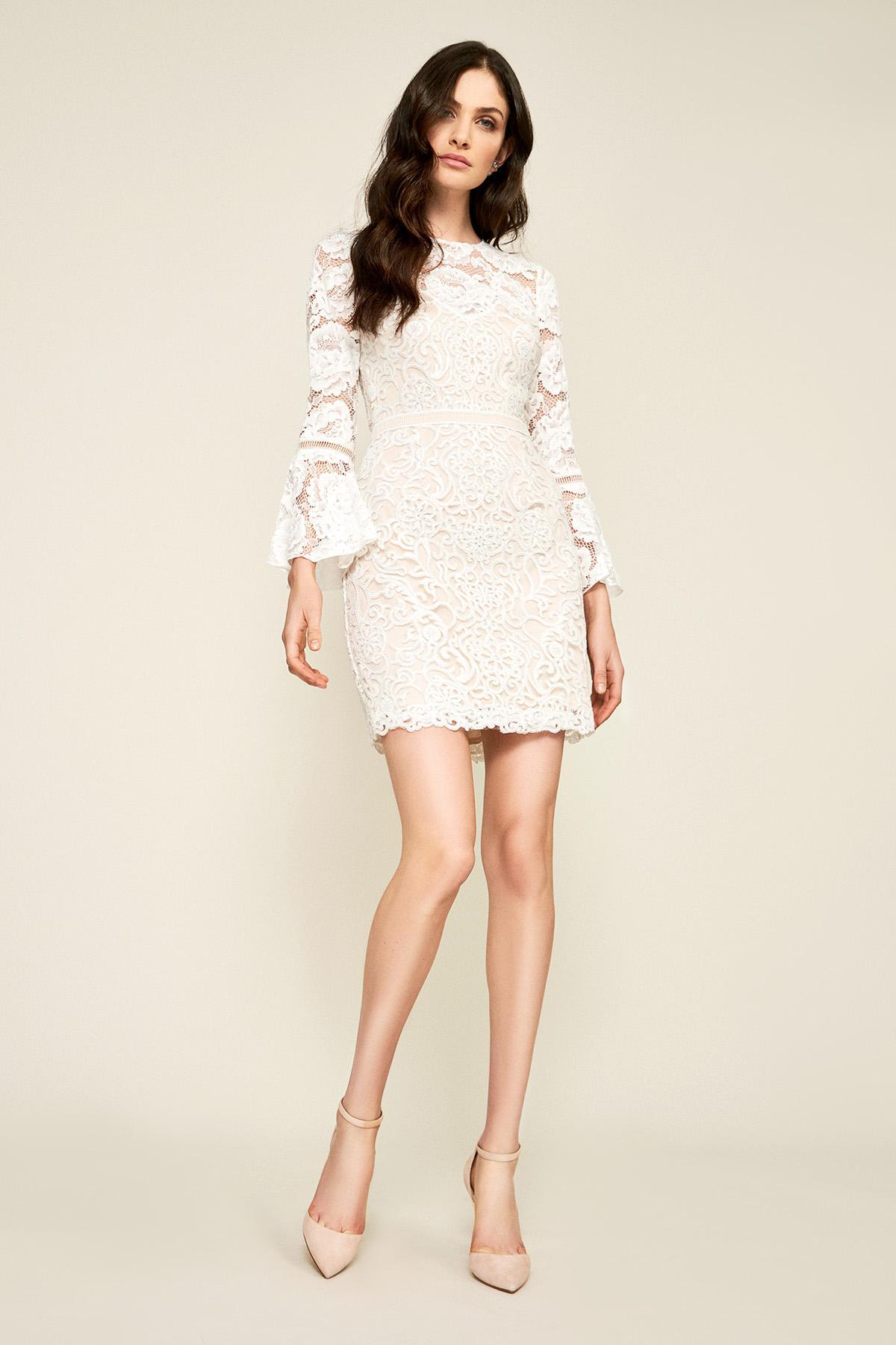 1707c23d7323 Tadashi Shoji Gabby Dress in White - Lyst