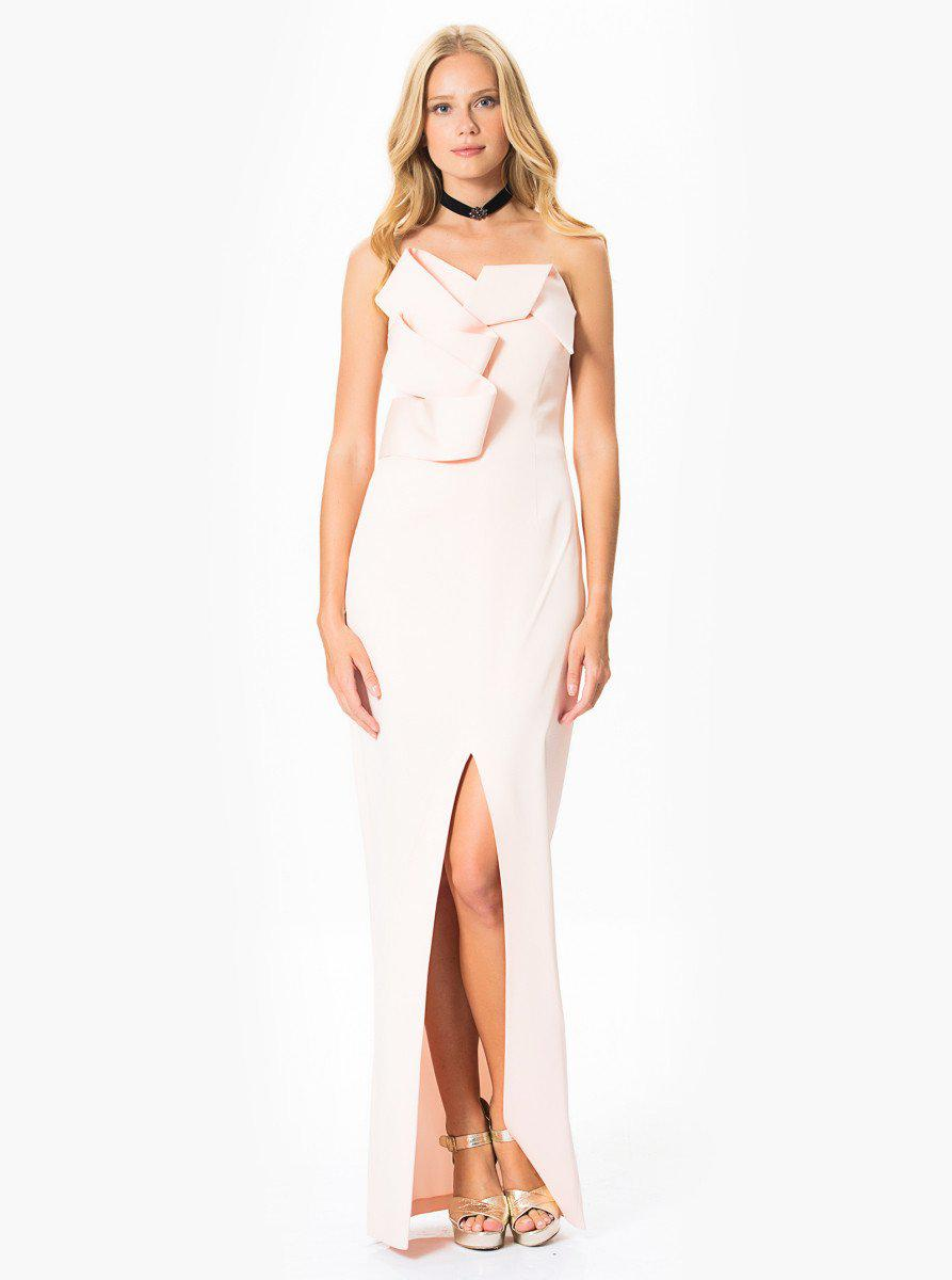 Lyst - Roman Front Detailed Powder Gown