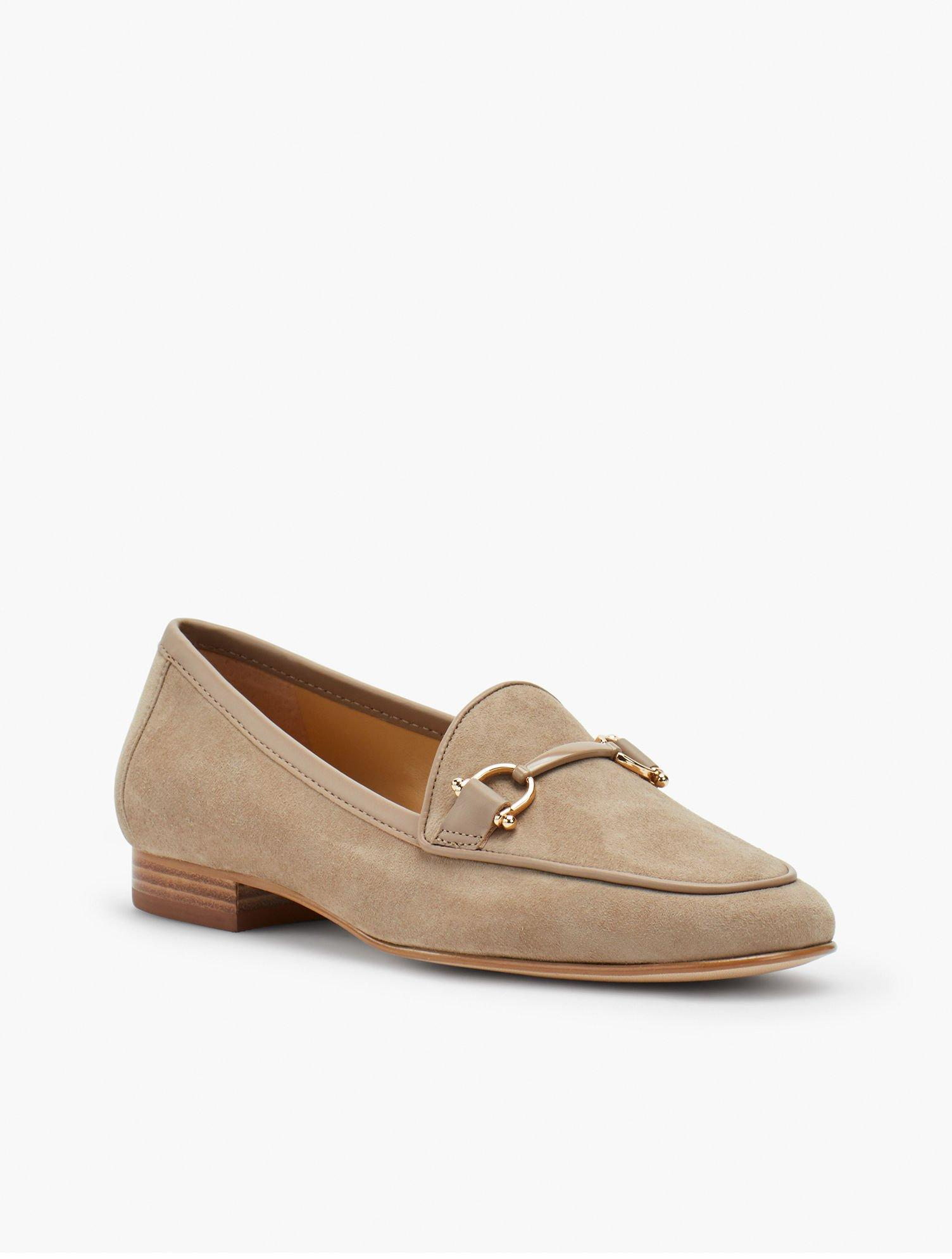 f8e5cf5f906 Lyst - Talbots Cassidy Kid Suede Loafers