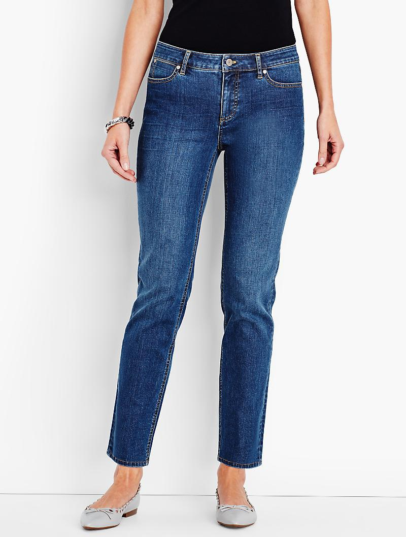 Lyst - Talbots The Flawless Five-pocket Ankle-liberty Wash ...