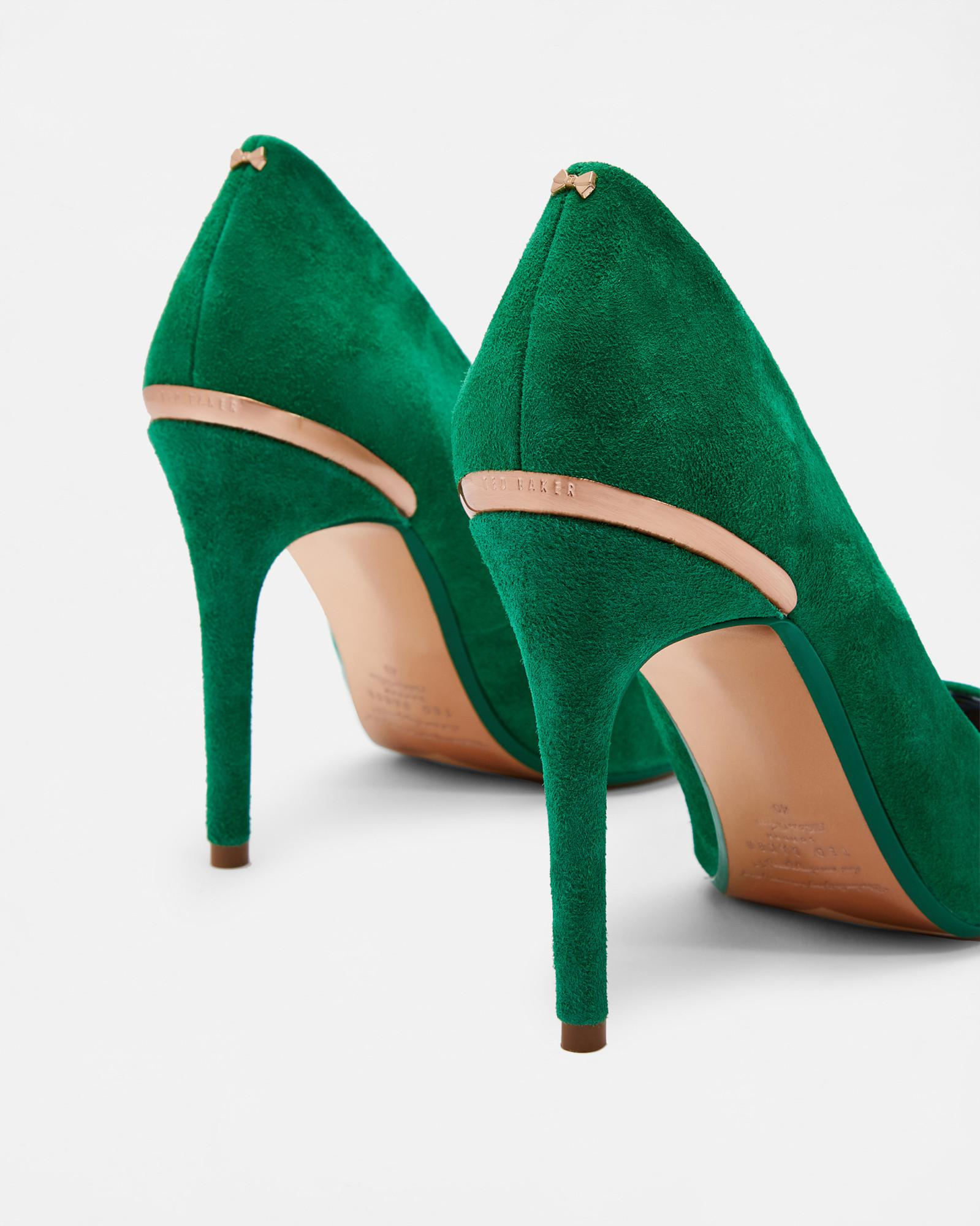 0c708ecdcaa1 Ted Baker Pointed Courts in Green - Lyst