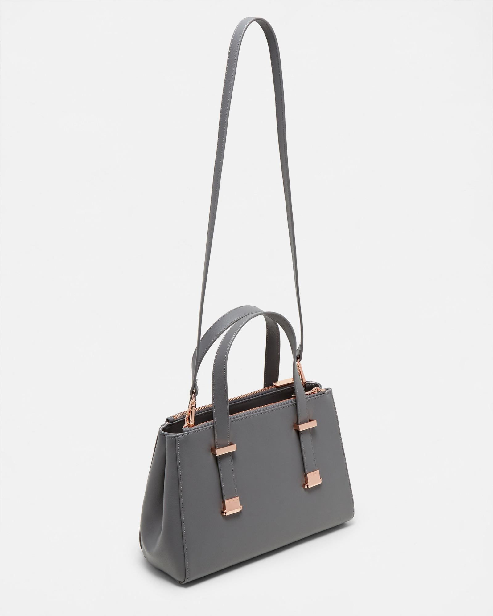 Small Leather Pebble Grain Tote Bag Ted Baker Footlocker Pictures For Sale Clearance How Much Outlet Free Shipping Authentic eIKJghx6X