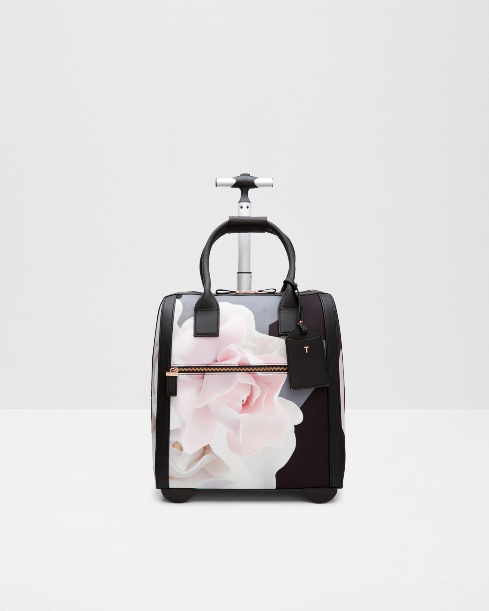 20c7088e4 Lyst - Ted Baker Porcelain Rose Travel Bag in Black