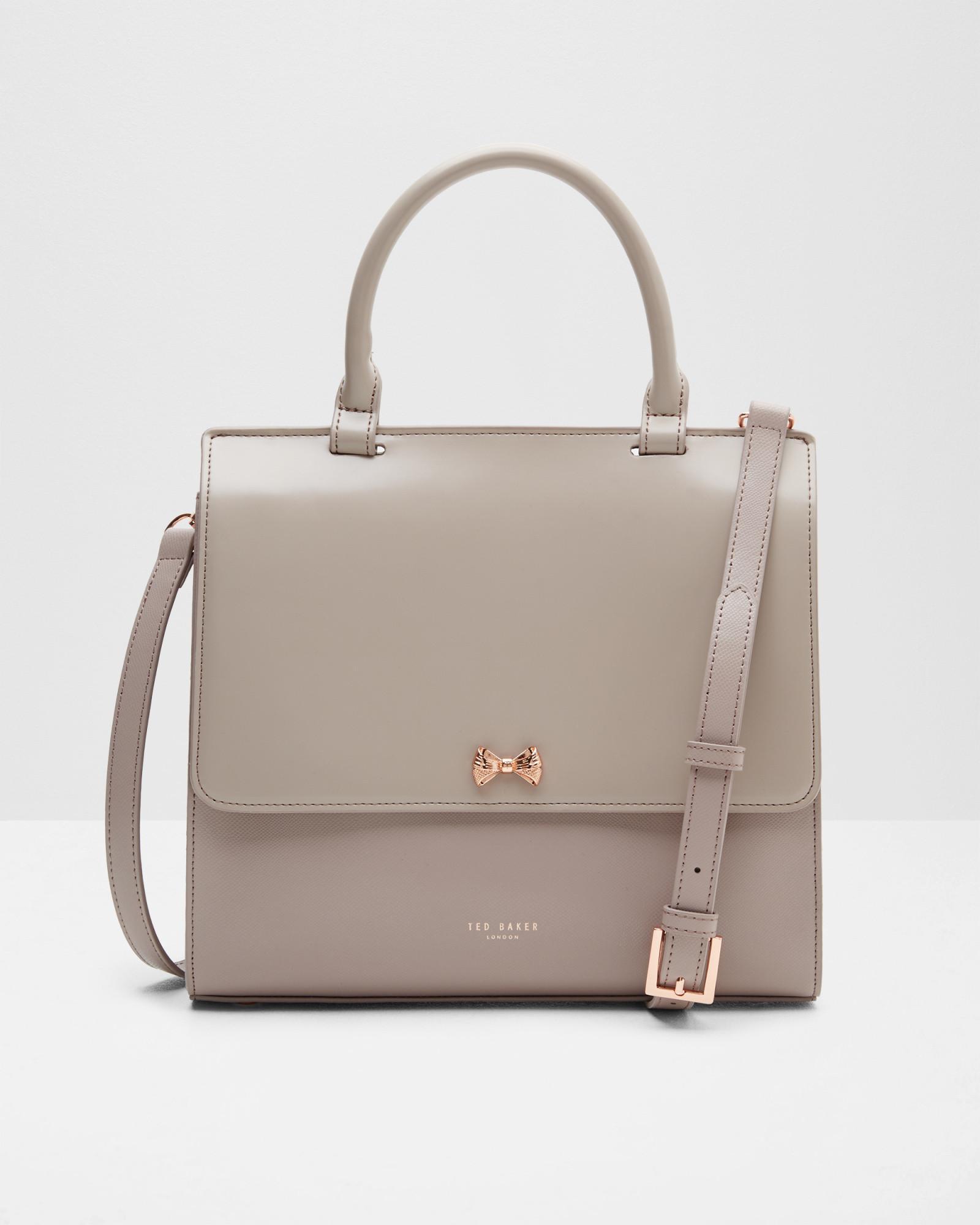 4ba23836ba Ted Baker Otillia Top Handle Leather Bag - Lyst