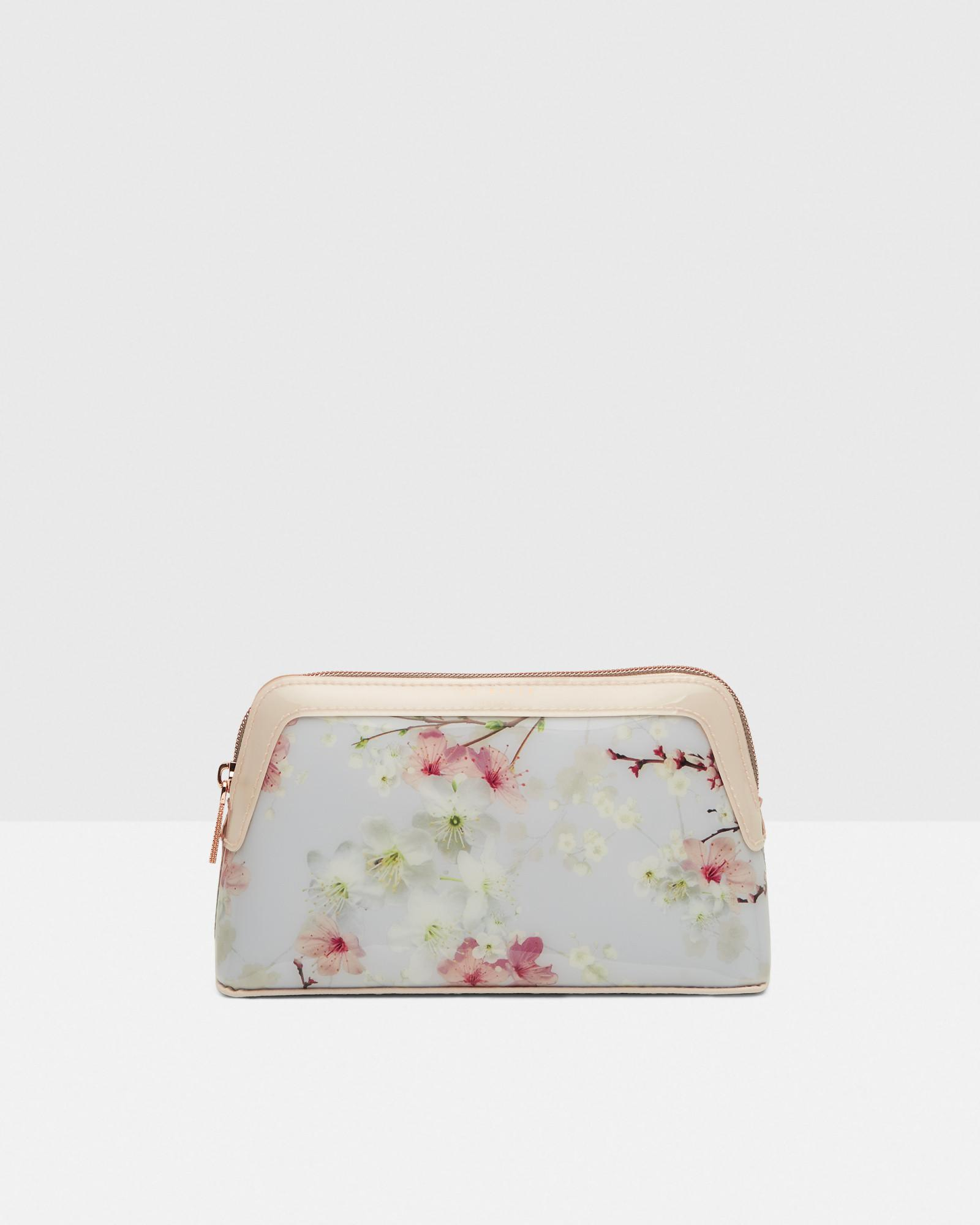 80767b0f8 Lyst - Ted Baker Oriental Blossom Make Up Bag in Gray