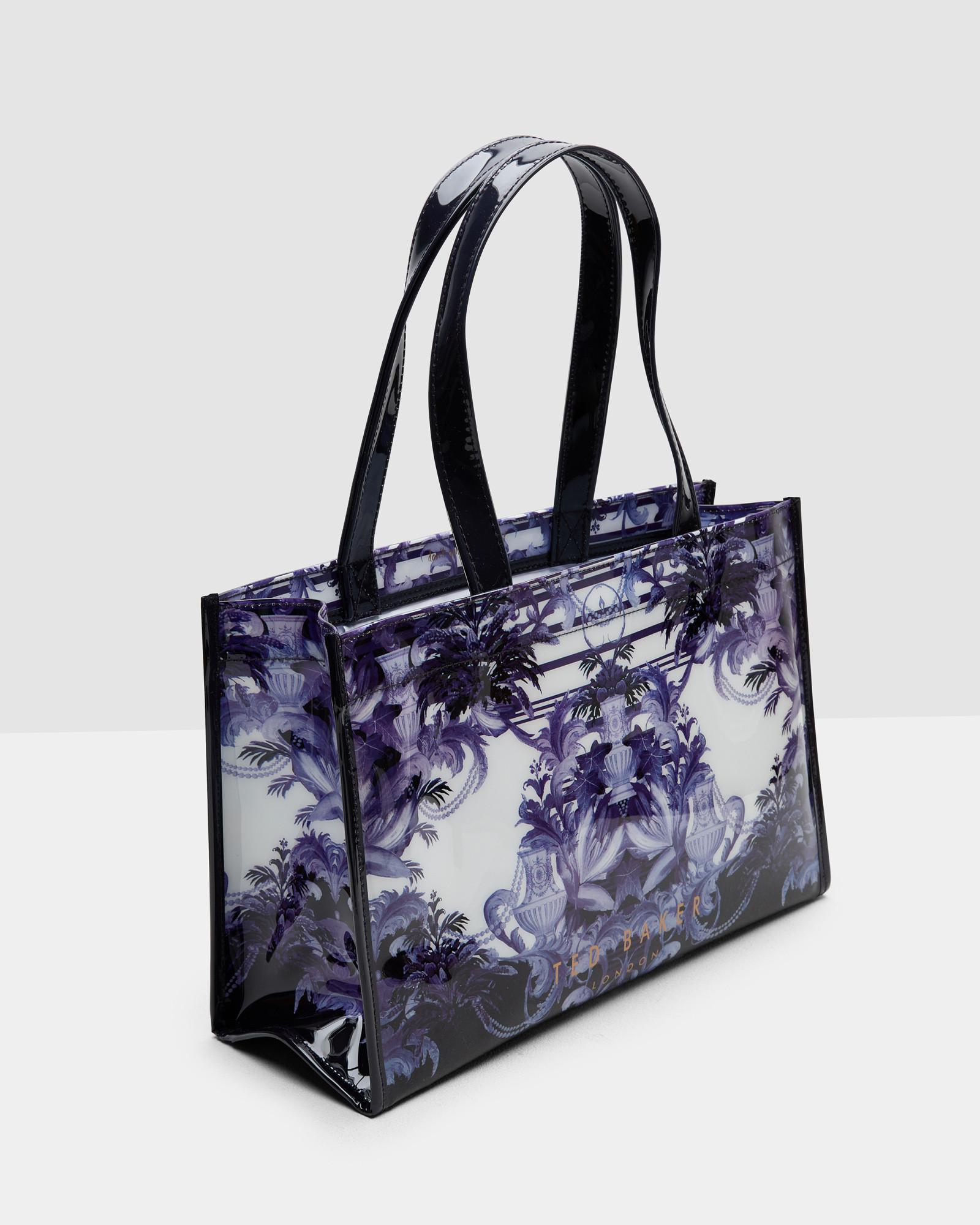 419a6e4b0ca434 Lyst - Ted Baker Persian Blue Flip Flop And Shopper Bag Set in Blue