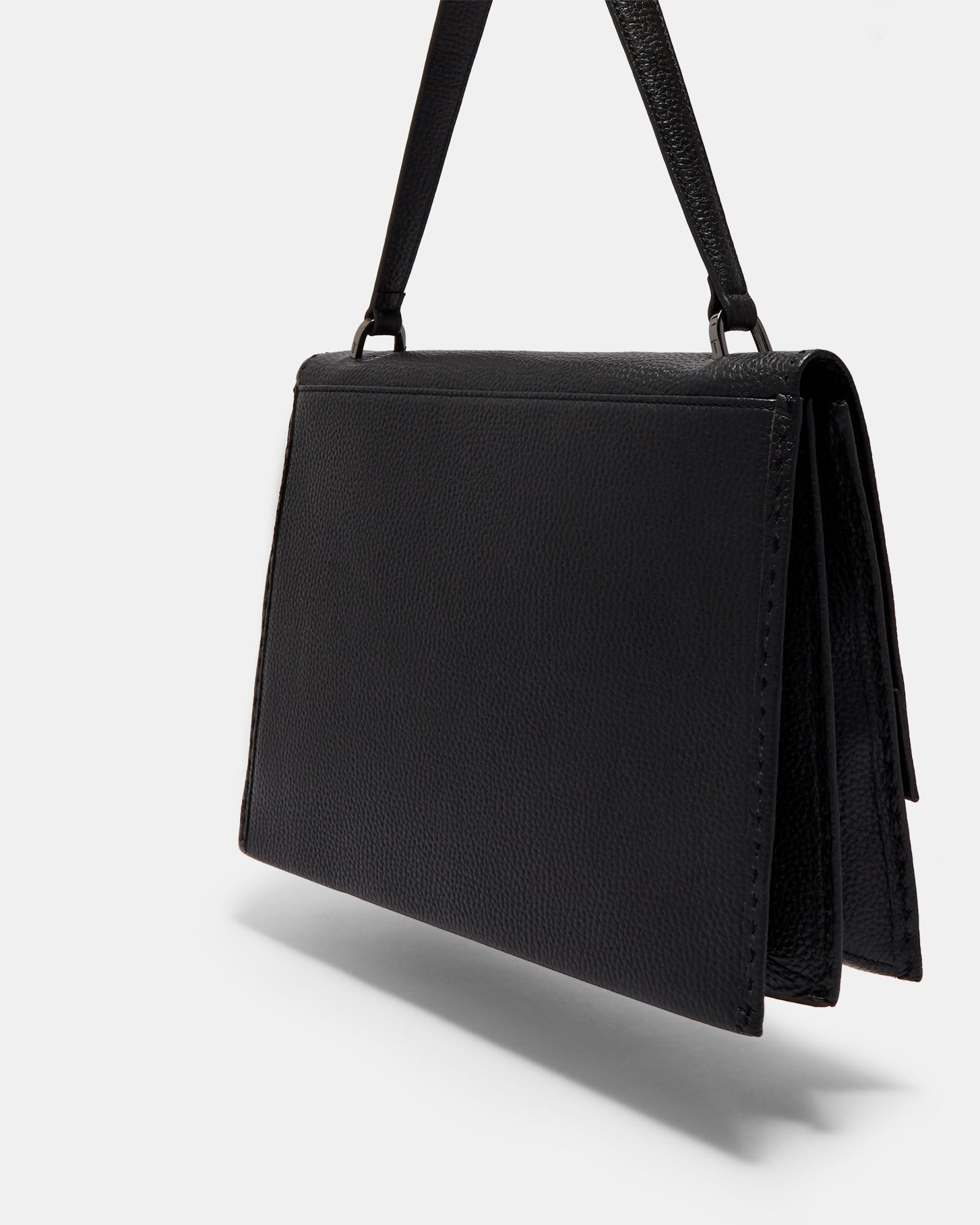 65a9a317d0a9 Lyst - Ted Baker Jessi Leather Shoulder Bag - in Black