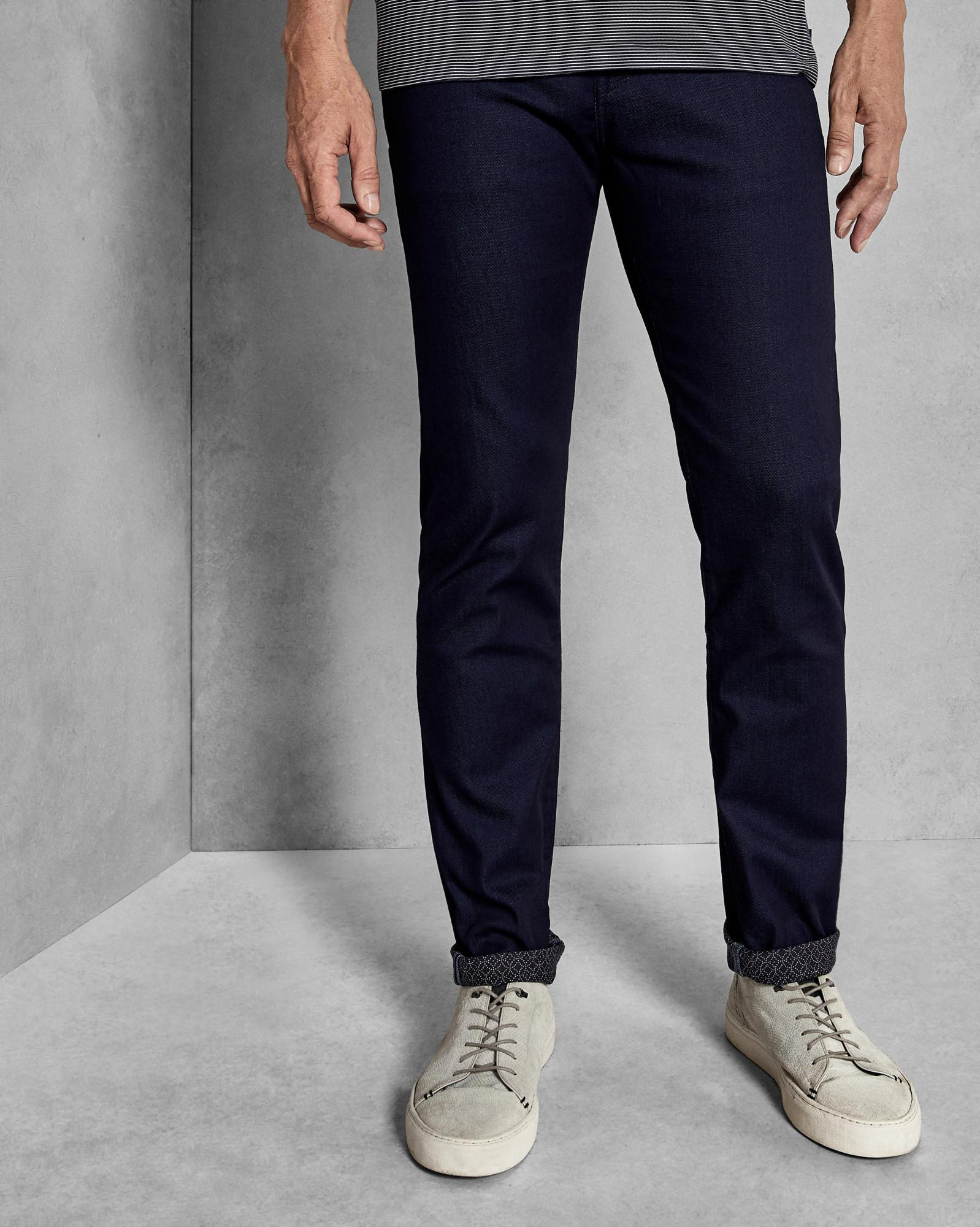 91ac54940f50 Ted Baker Tall Straight Fit Jeans in Blue for Men - Lyst