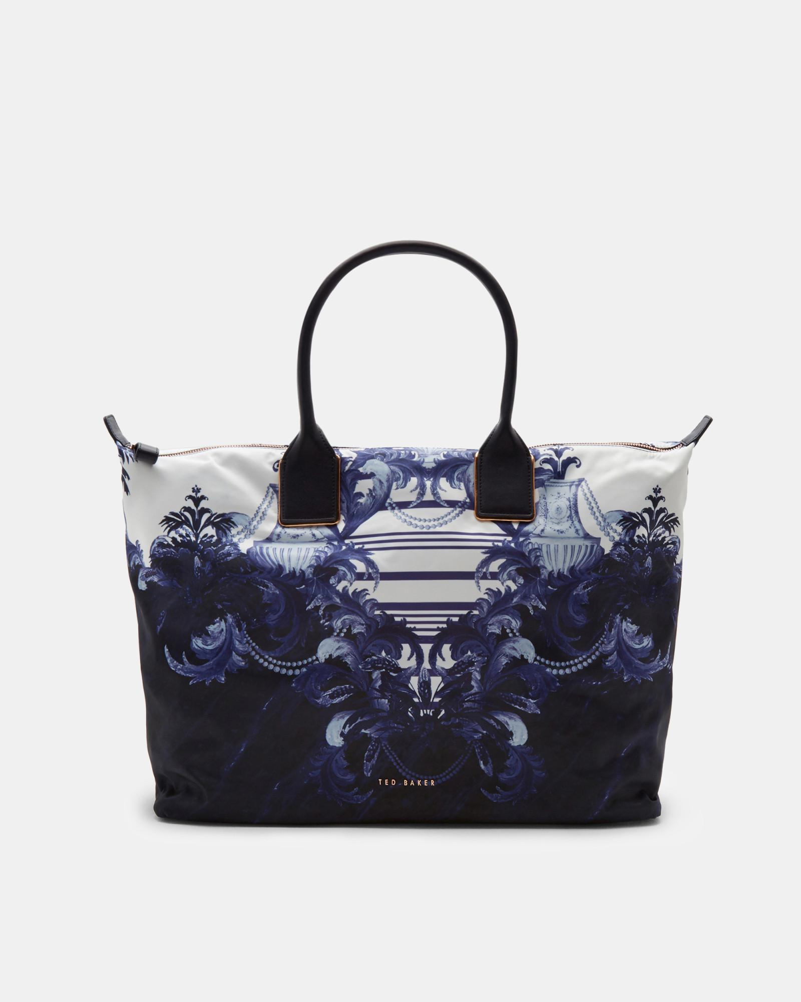 1609dbc65ccc Ted Baker Persian Blue Large Tote Bag in Blue - Lyst