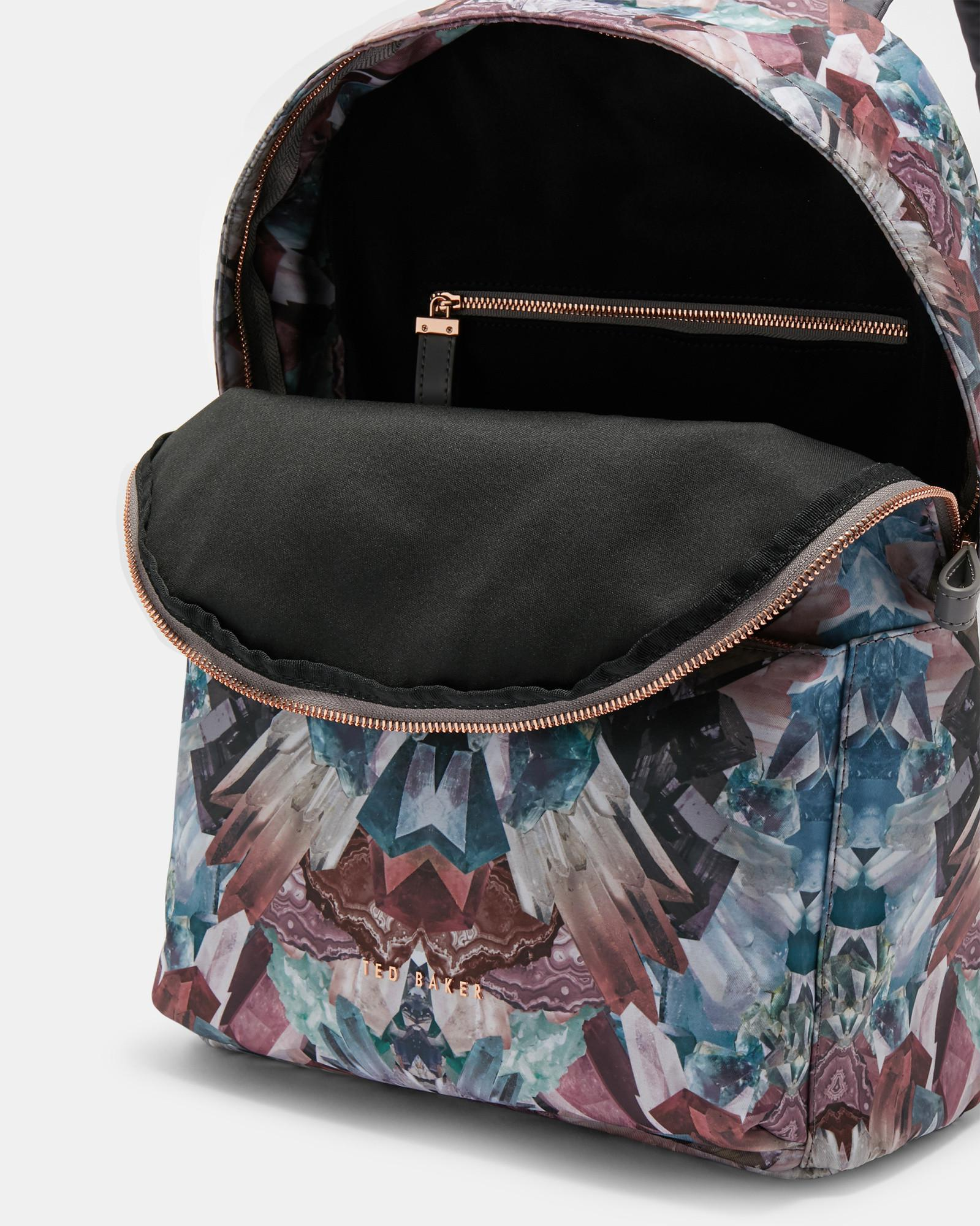 b12d0fa02e5f9 Ted Baker - Multicolor Mirrored Minerals Backpack - Lyst