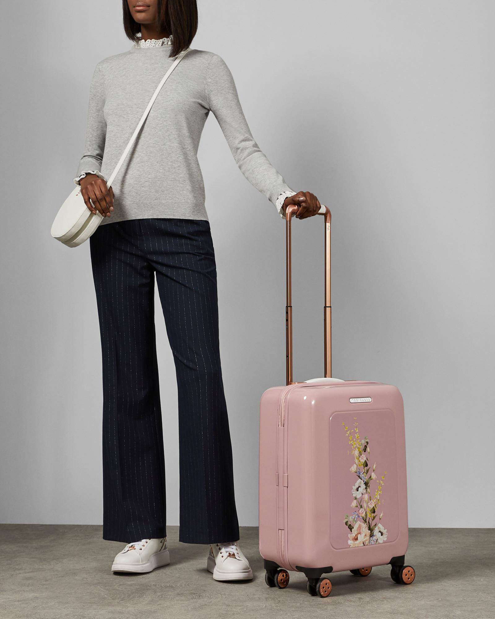 fe168cf66 Ted Baker Elegant Print Small Suitcase in Pink - Lyst