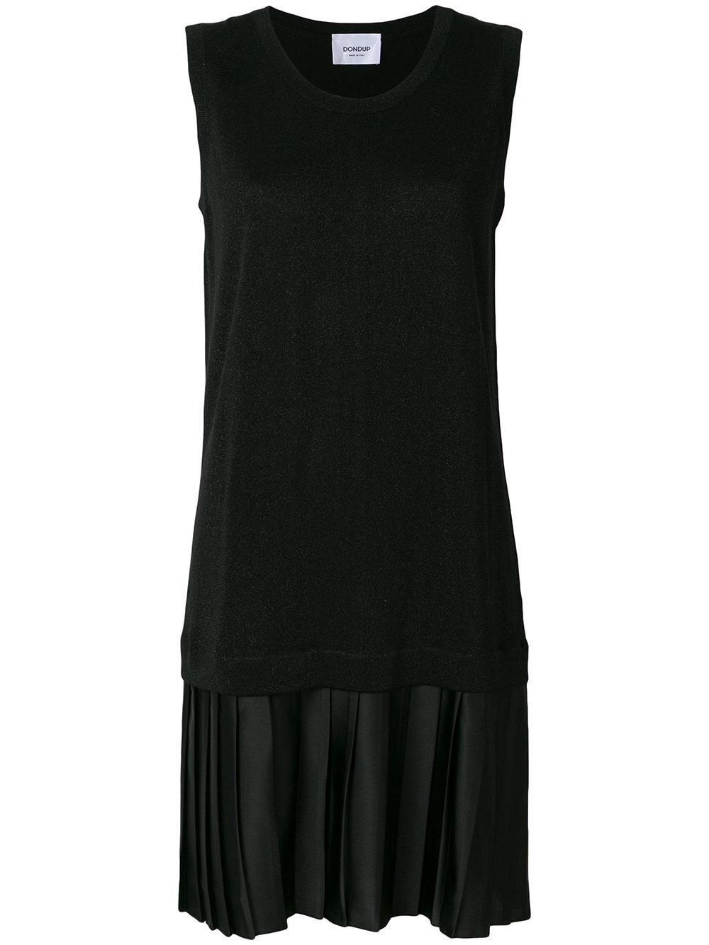Black lurex dress Dondup Sale Free Shipping Free Shipping Limited Edition Pictures Cheap Online Best Sale Cheap Price jWzs168QR